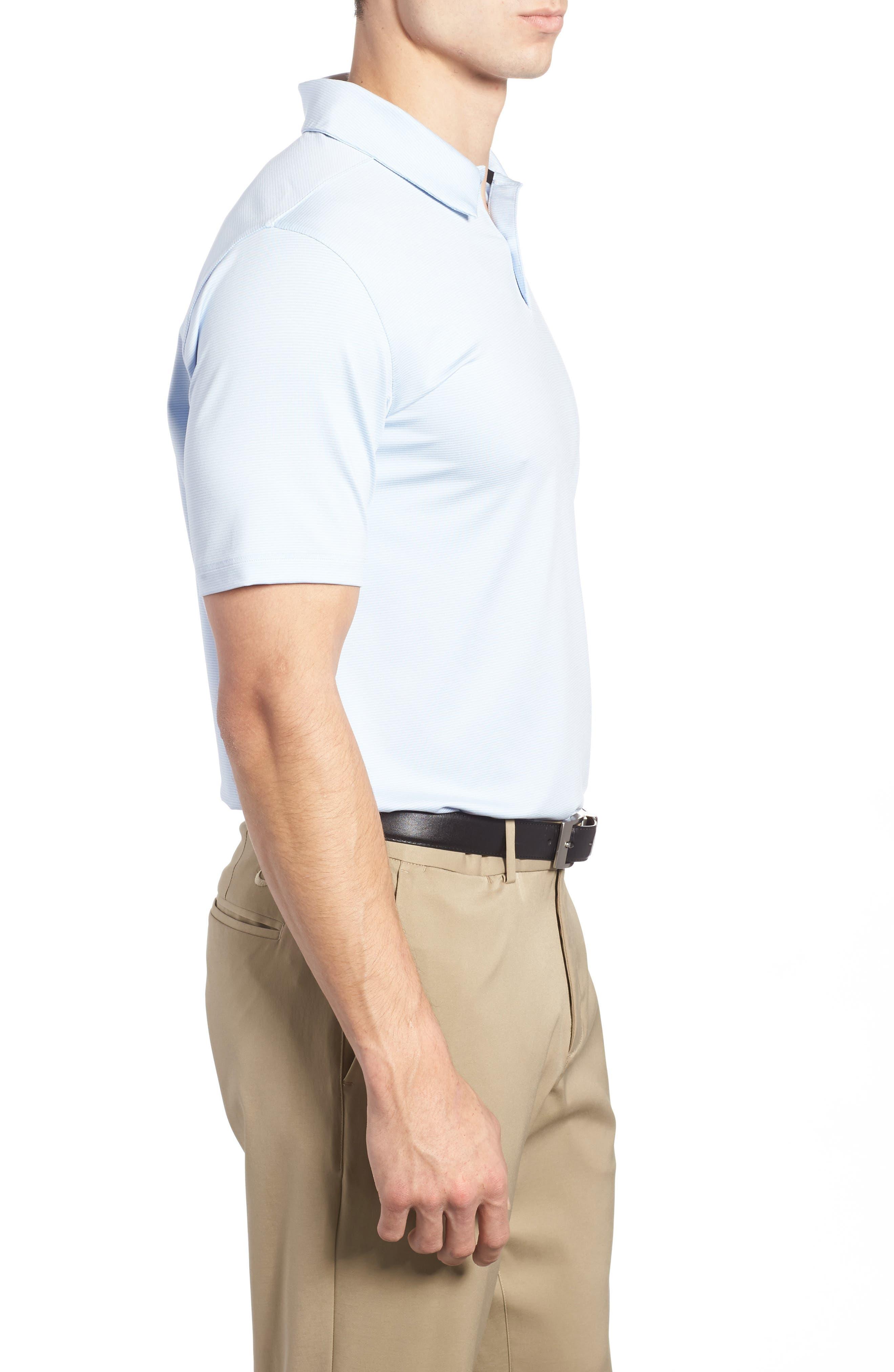 Alternate Image 3  - Nike Dry Control Stripe Polo