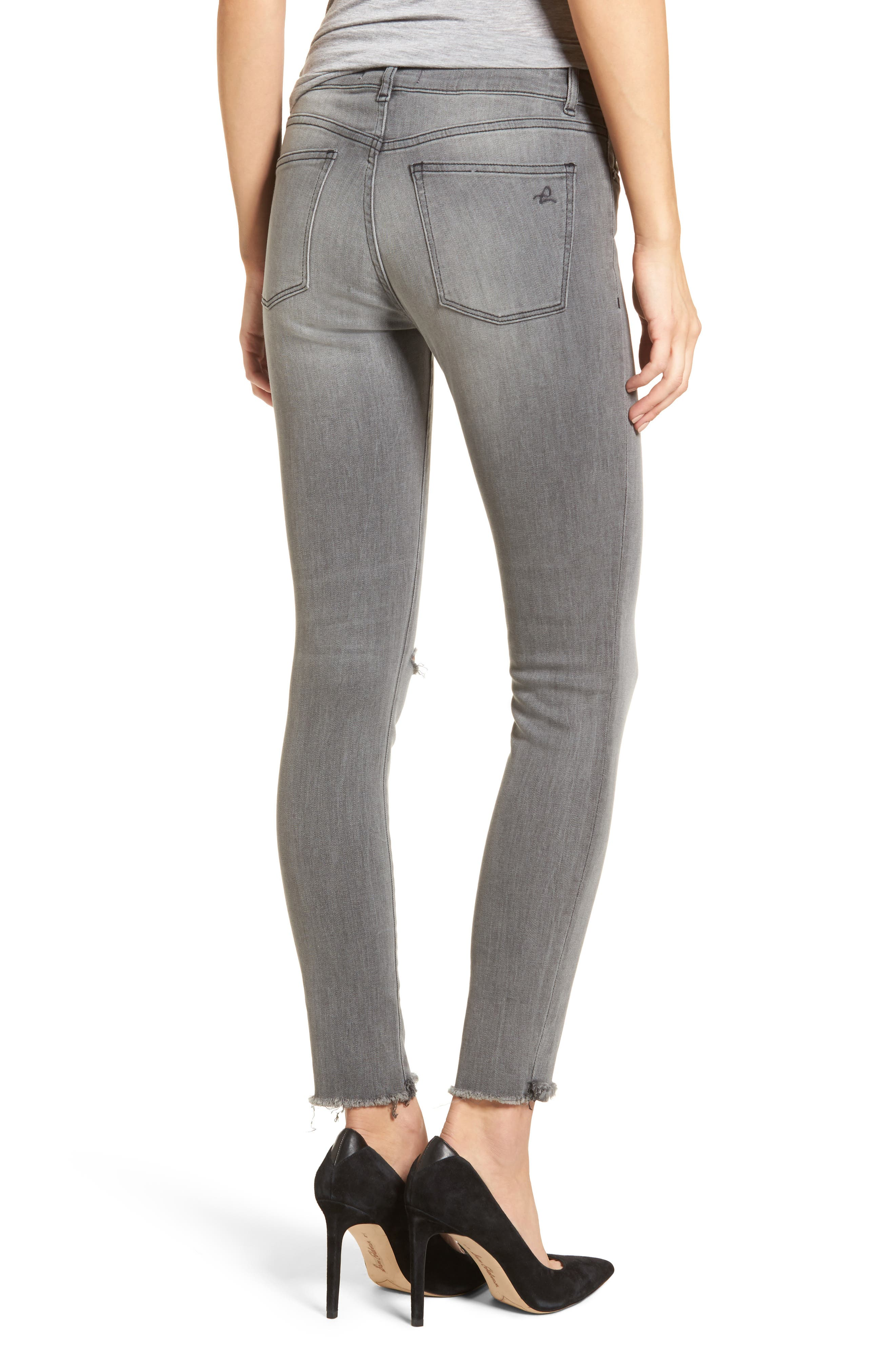 Emma Power Legging Jeans,                             Alternate thumbnail 2, color,                             Tarrant
