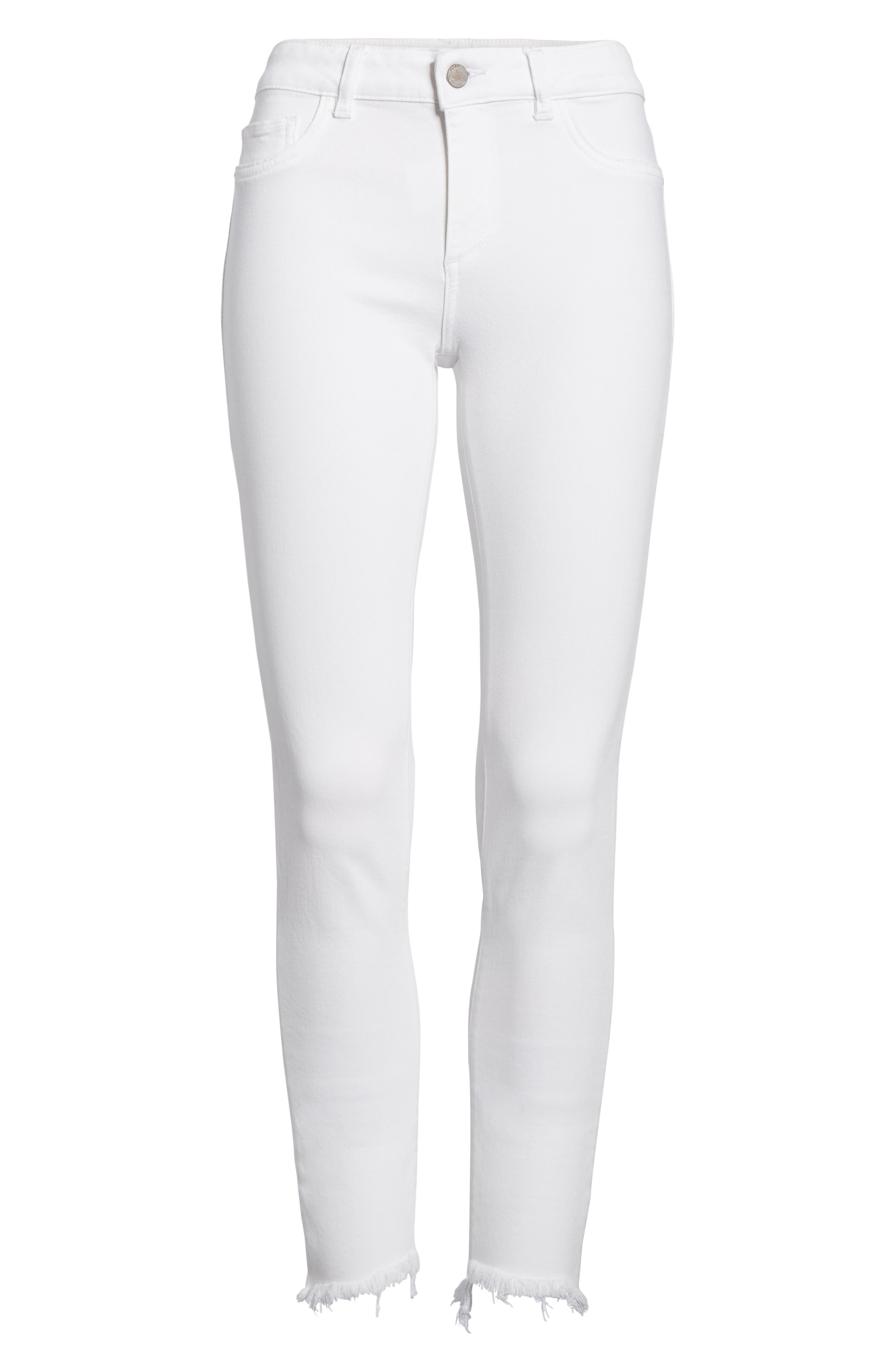 Margaux Instasculpt Ankle Skinny Jeans,                             Alternate thumbnail 7, color,                             Catalina