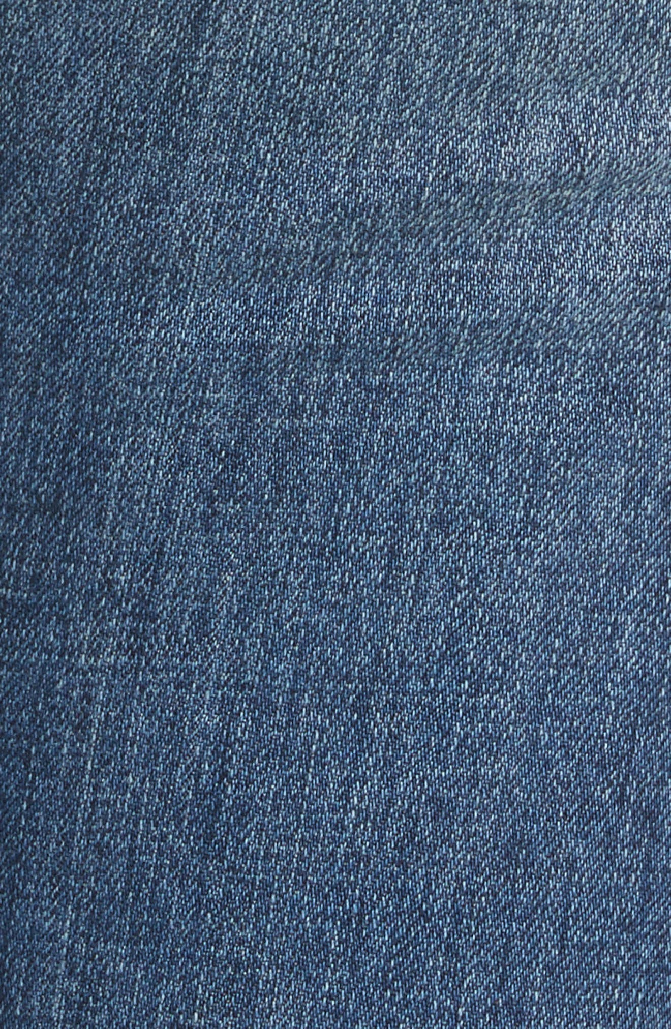 Slim Boyfriend Jeans,                             Alternate thumbnail 5, color,                             Blue