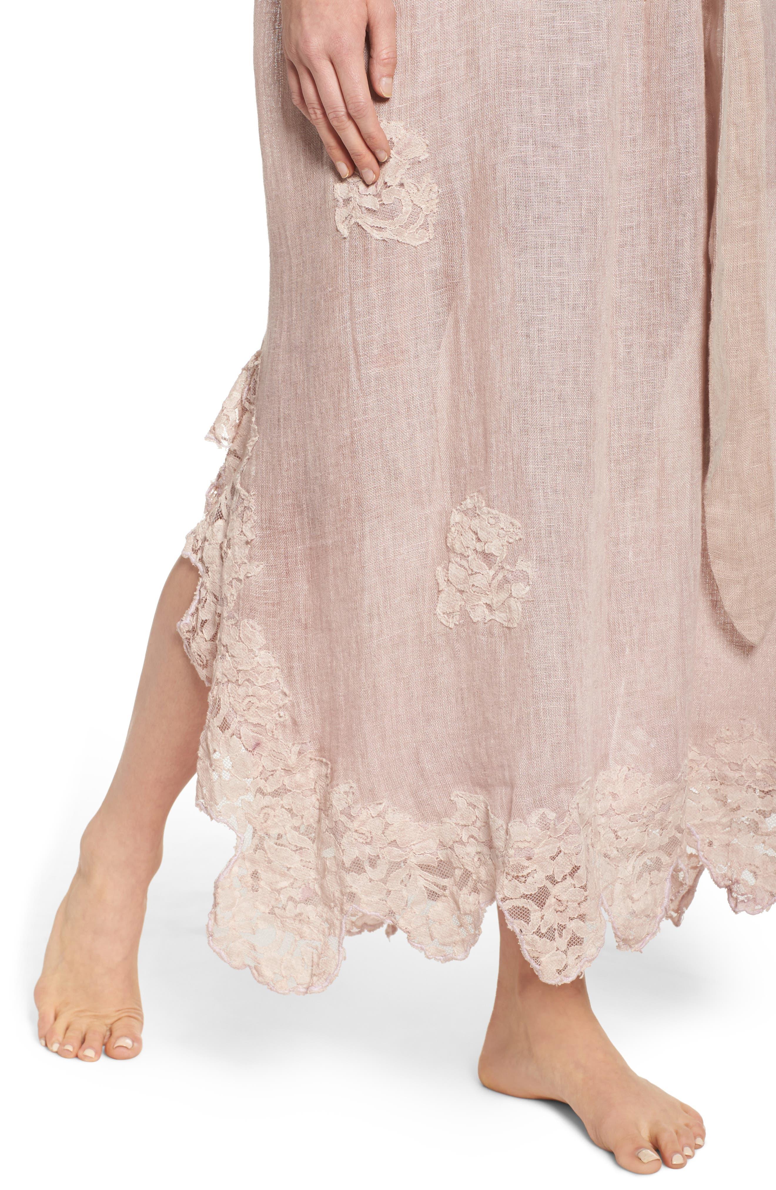 Alternate Image 4  - Muche et Muchette Daisy Linen Cover-Up Dress