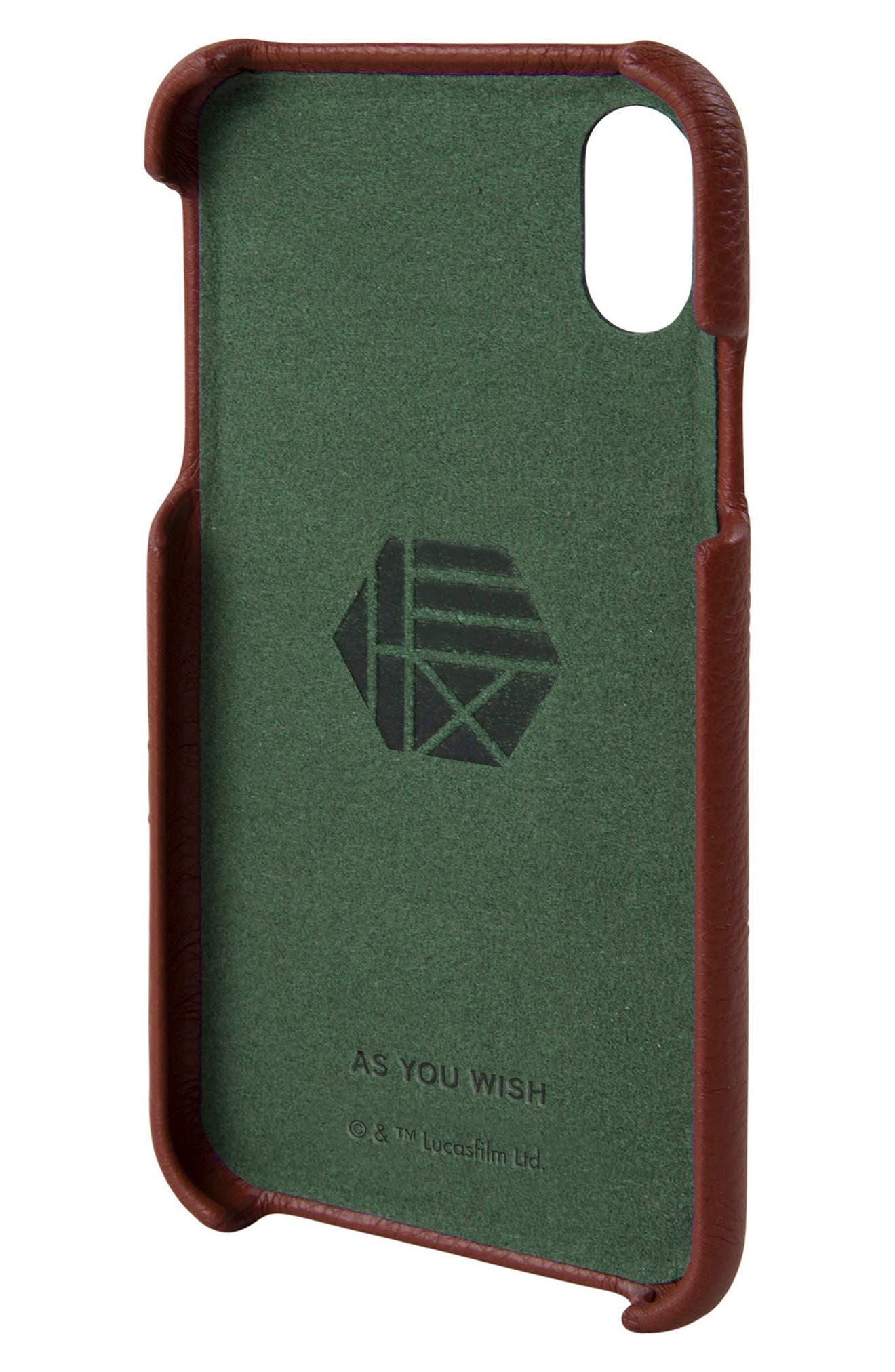 Alternate Image 2  - HEX Boba Fett iPhone X Case