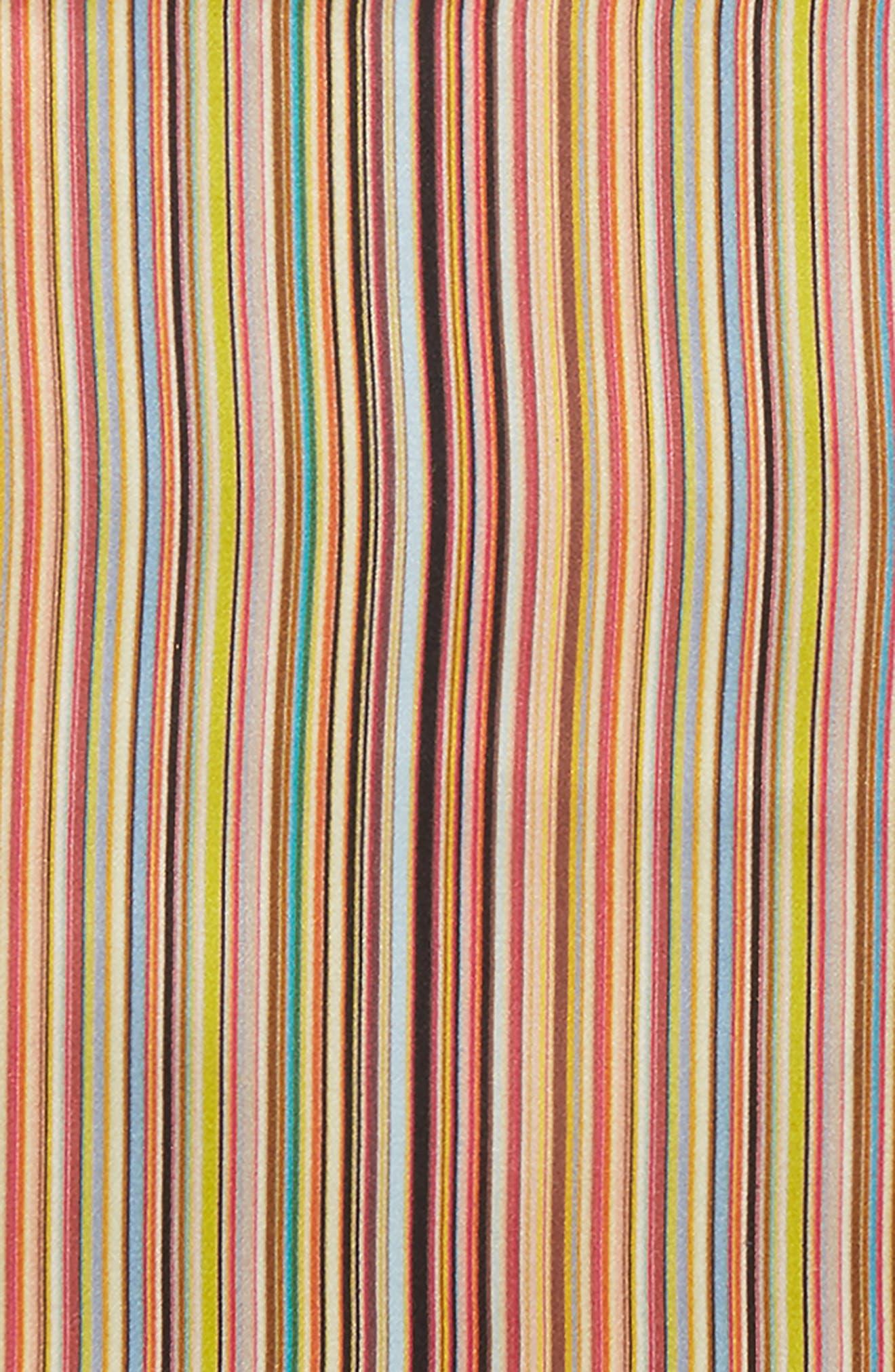 Alternate Image 3  - Paul Smith Multistripe Silk Pocket Square