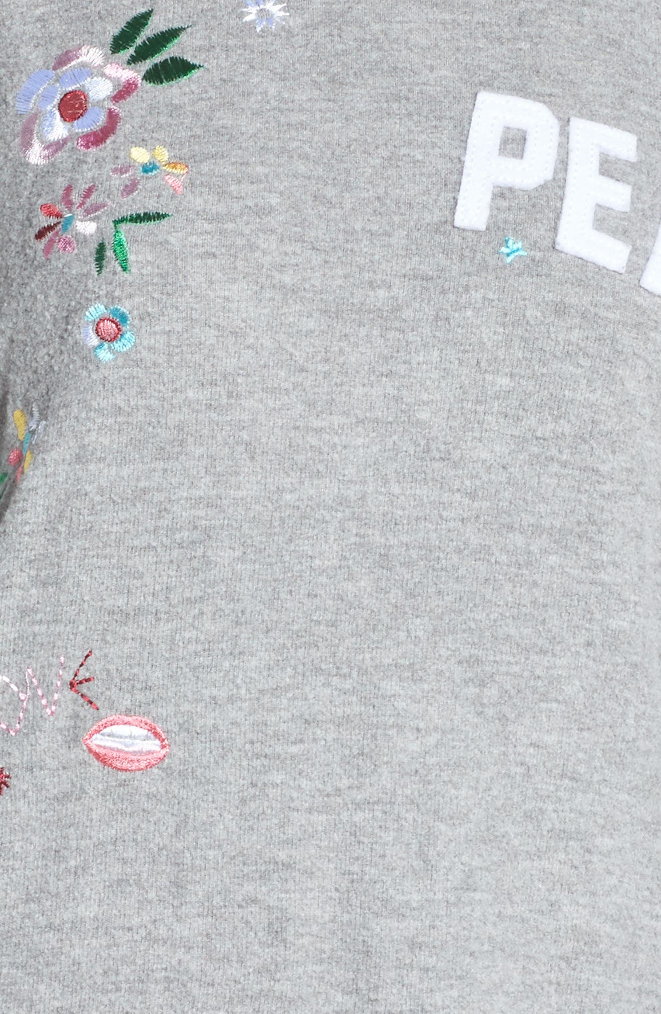 Alternate Image 6  - Chaser Patched Up Sweatshirt