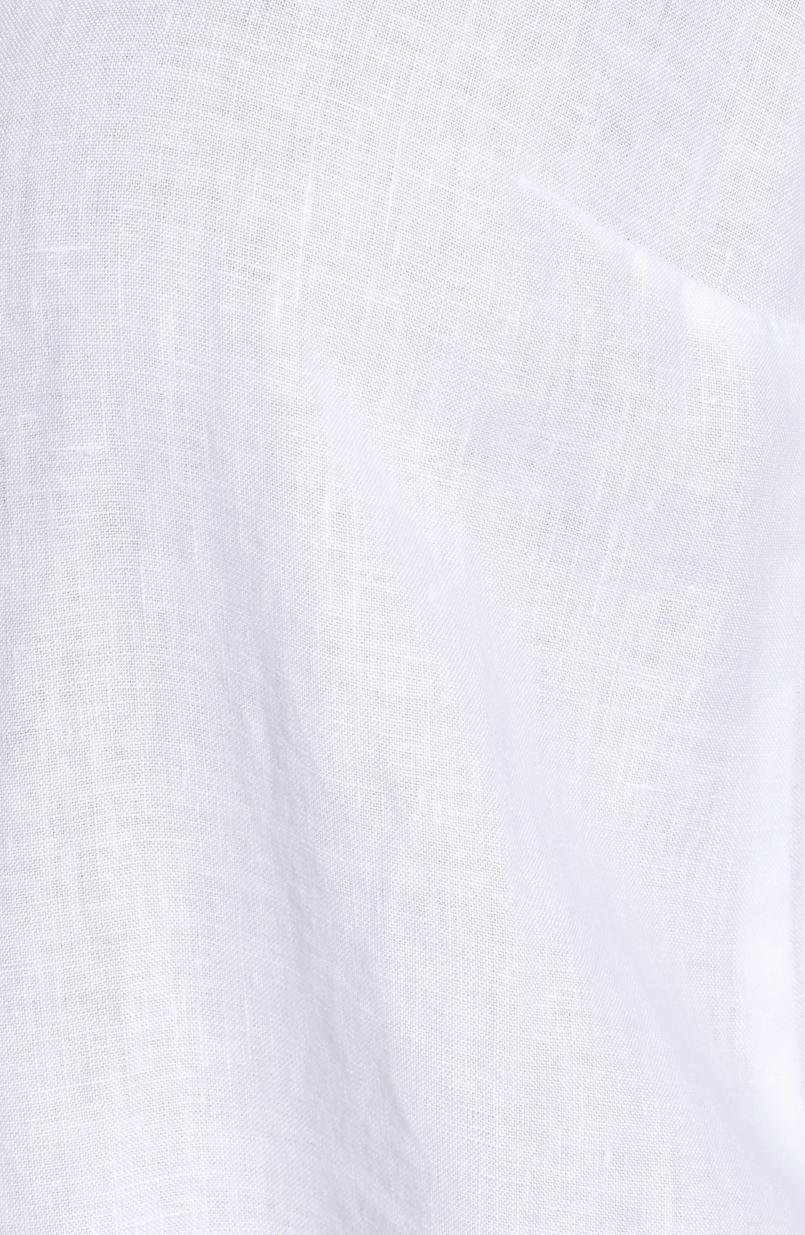 Alternate Image 5  - Eileen Fisher Organic Linen Tunic Shirt (Plus Size)
