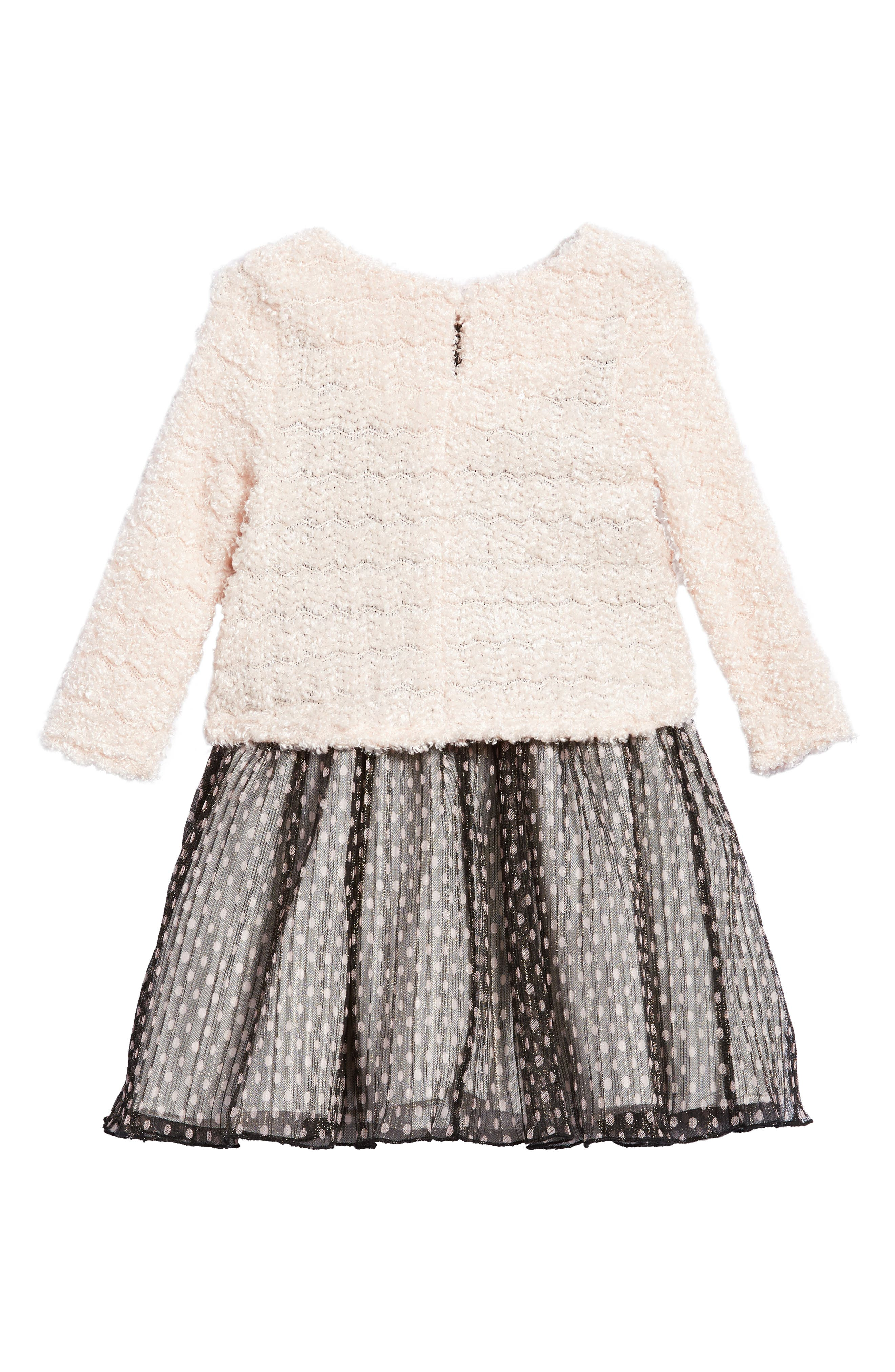 Alternate Image 2  - Pippa & Julie Sweater & Dress Set (Toddler Girls & Little Girls)