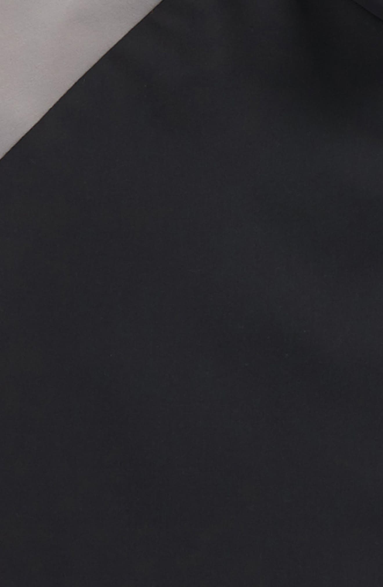 Long Sleeve Rashguard,                             Alternate thumbnail 2, color,                             Black/ Dark Grey