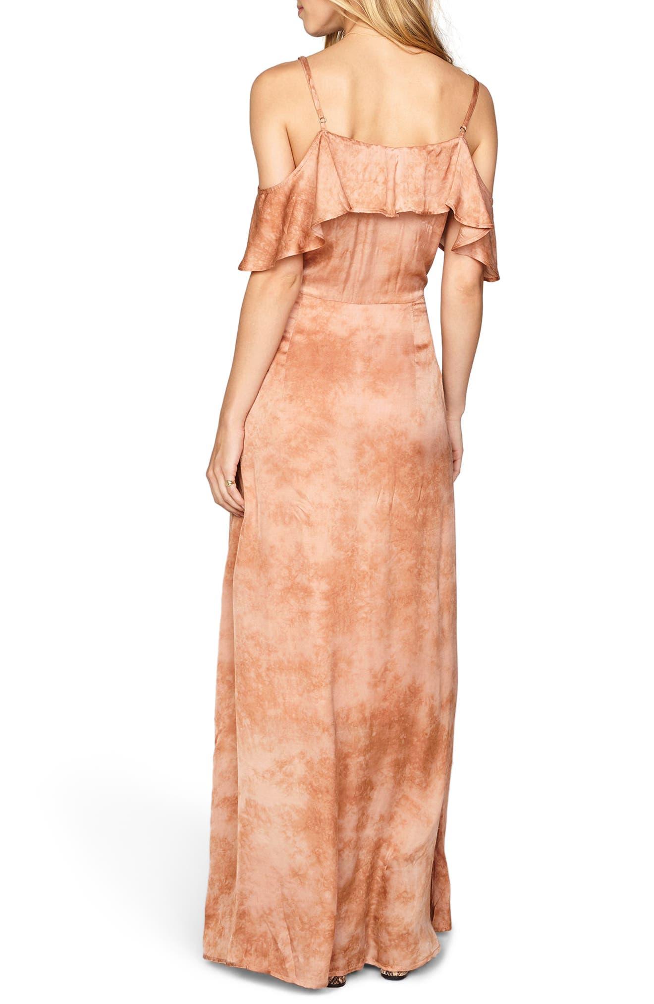 Alternate Image 3  - Amuse Society Lost Paradise Off the Shoulder Maxi Dress
