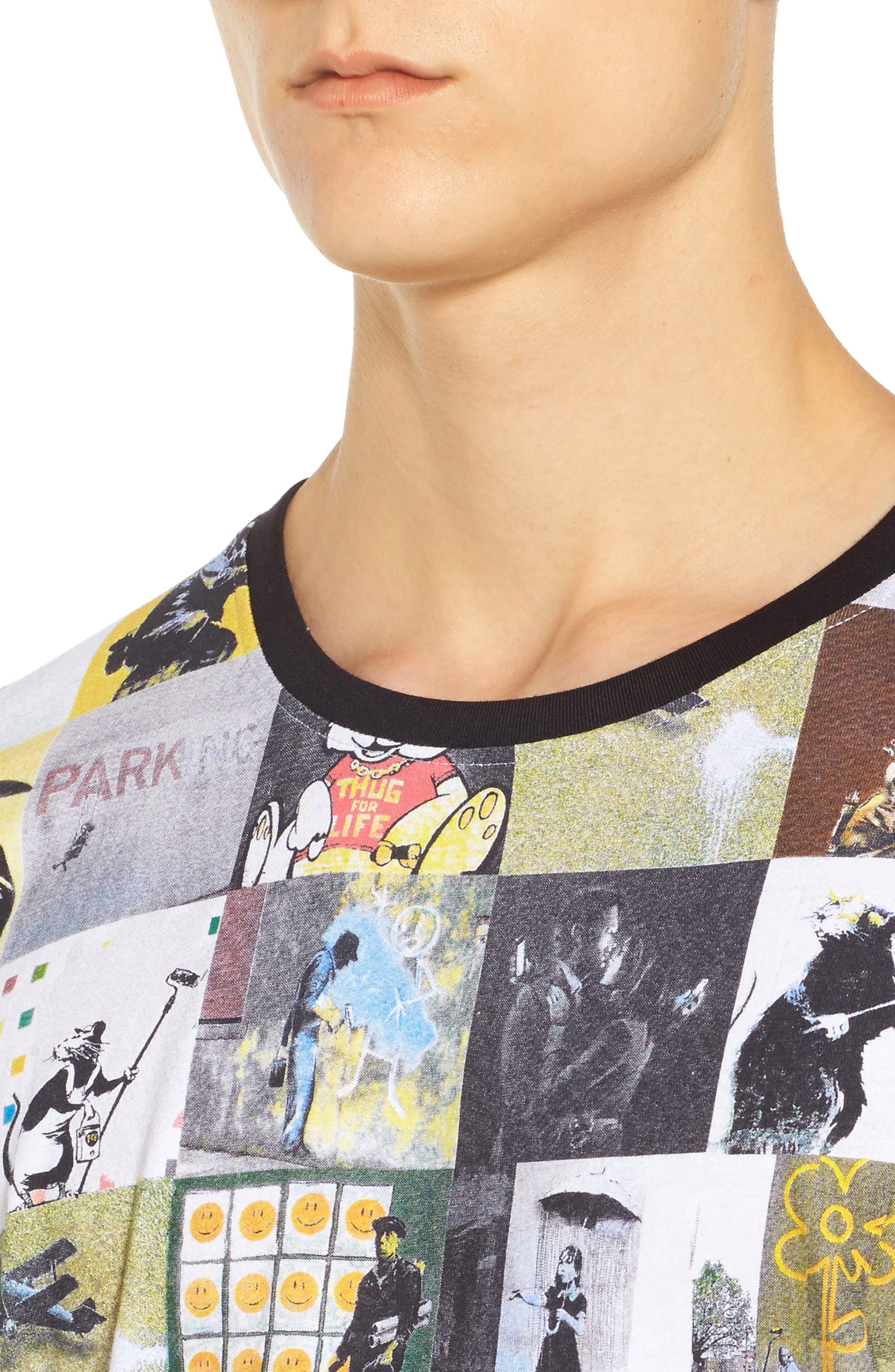 Alternate Image 4  - ELEVENPARIS Collage T-Shirt