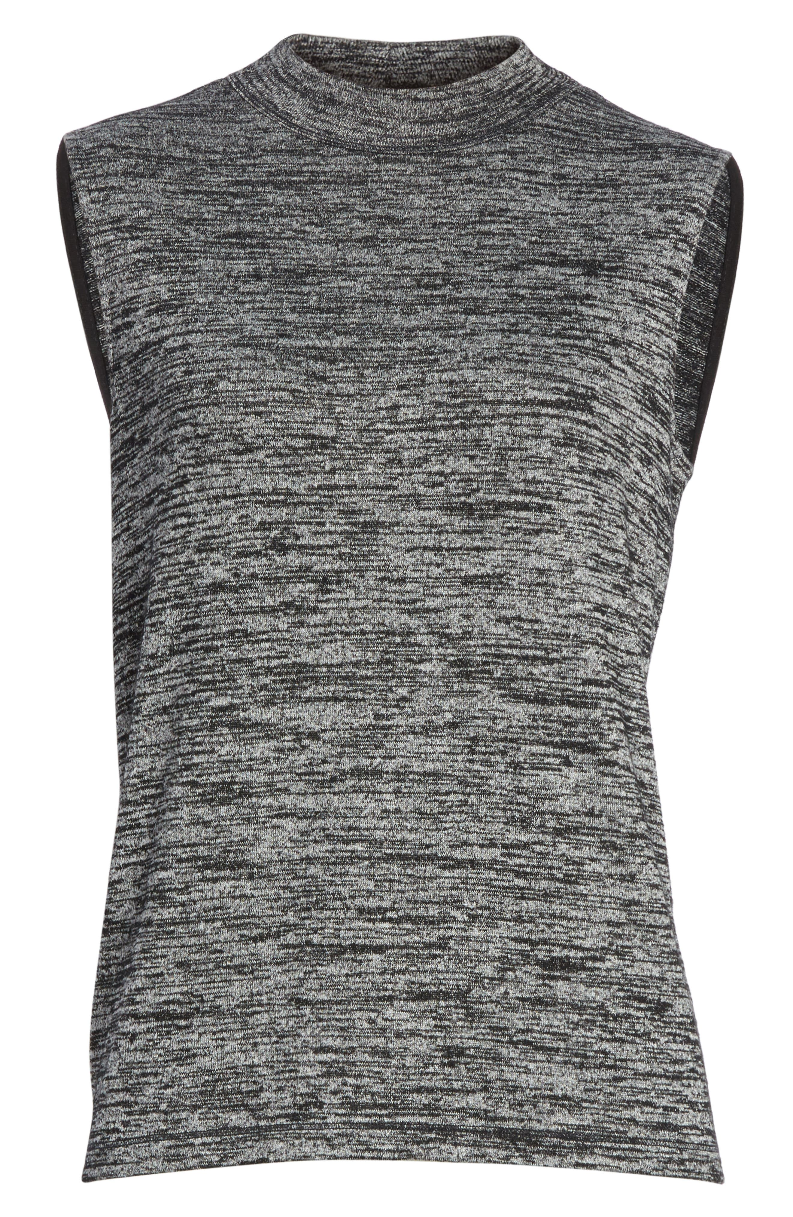 Charley Tank,                             Alternate thumbnail 6, color,                             Black Heather