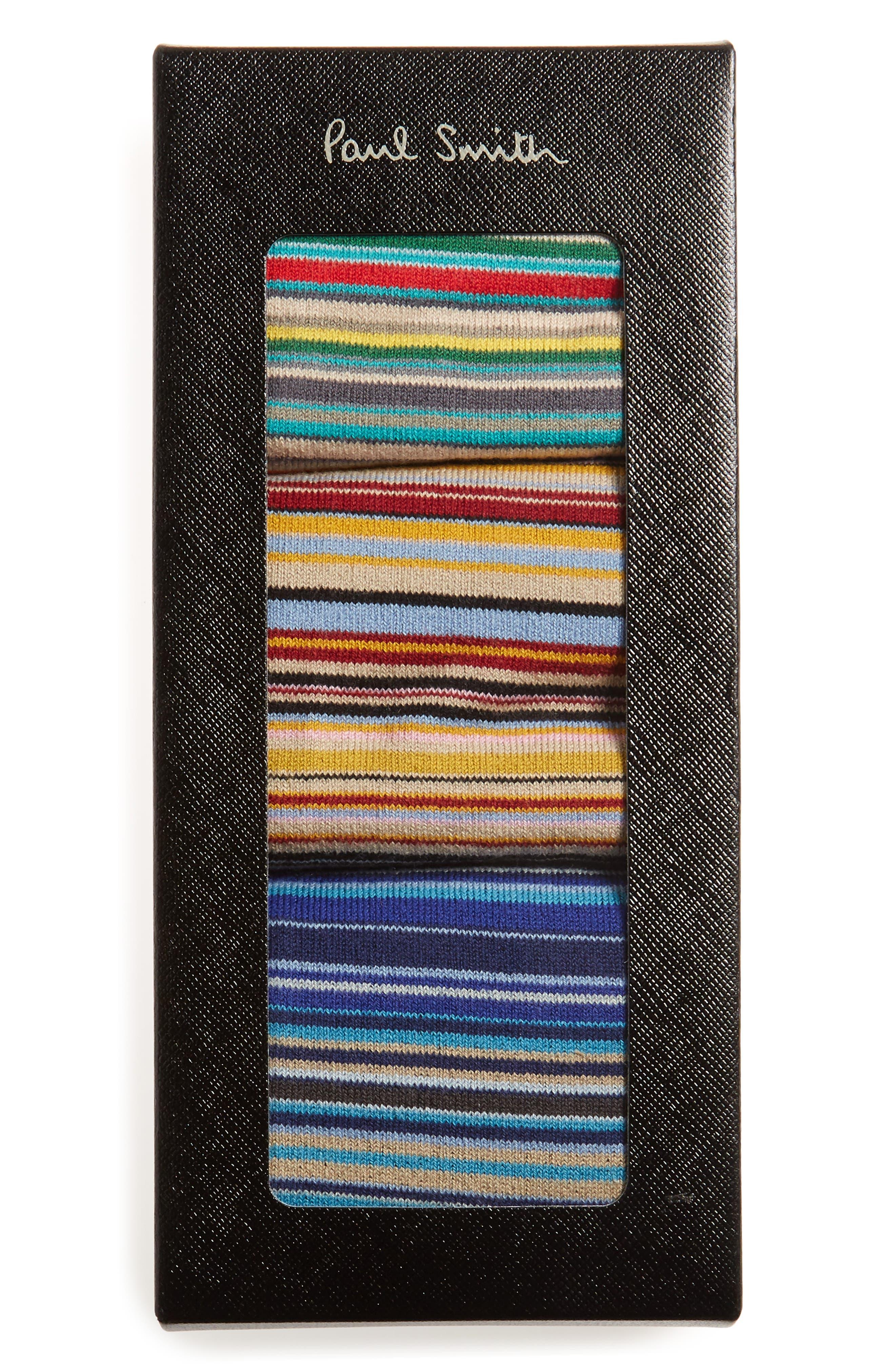Alternate Image 2  - Paul Smith 3-Pack Mixed Pattern Socks ($90 Value)