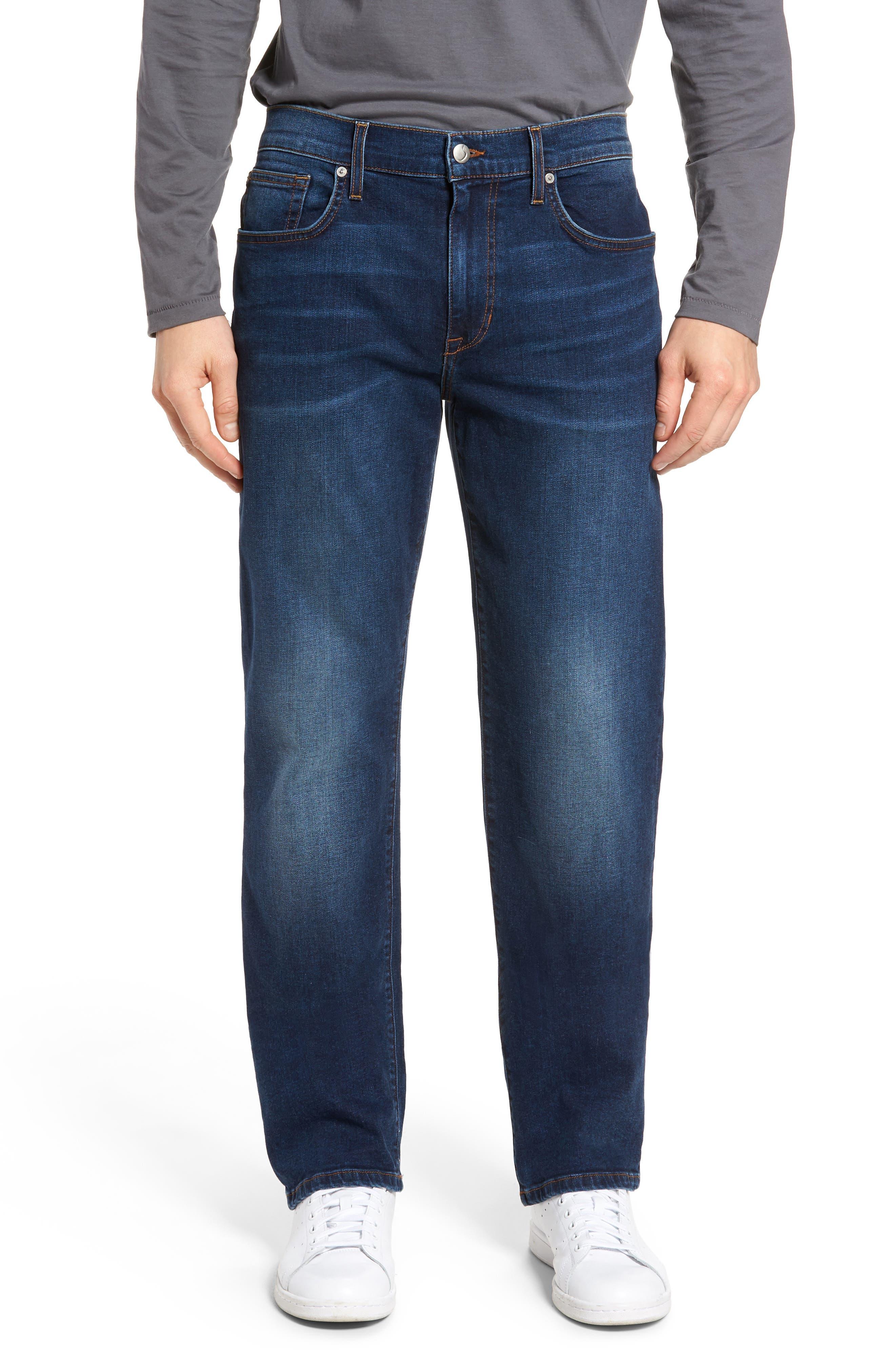 Brixton Slim Straight Leg Jeans,                             Main thumbnail 1, color,                             Line