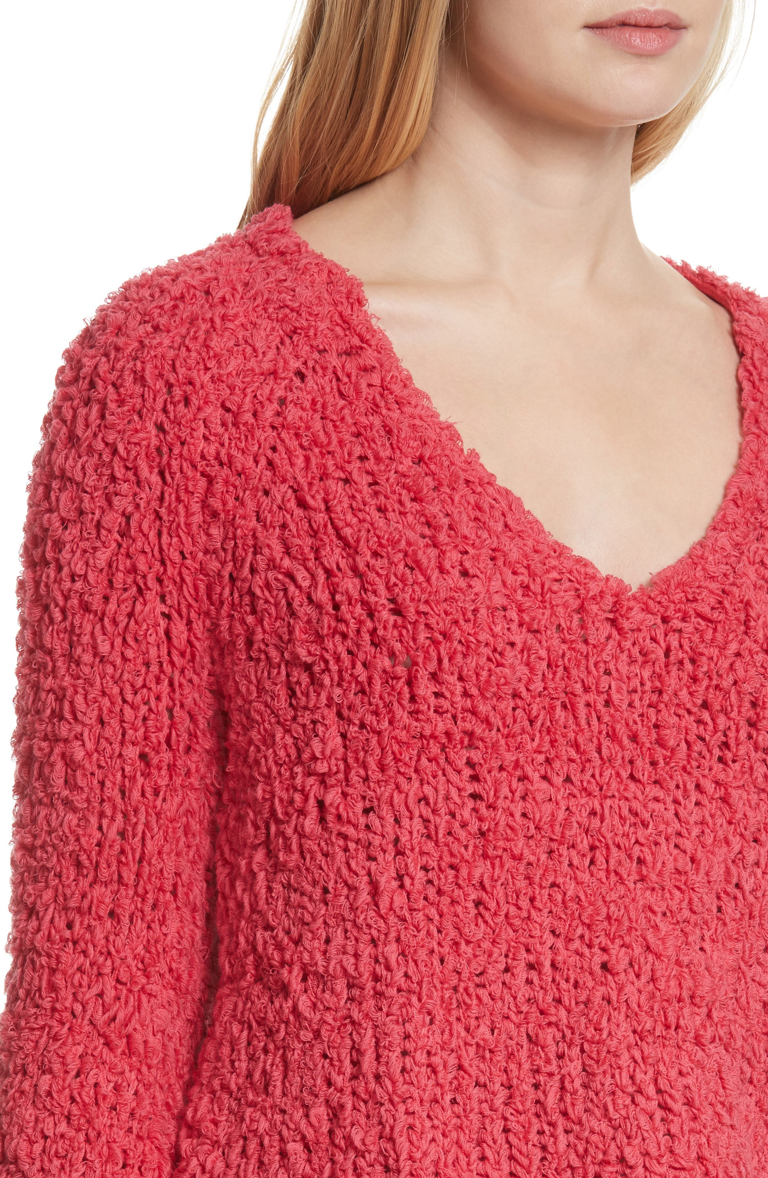Sand Dune Sweater,                             Alternate thumbnail 4, color,                             Pink