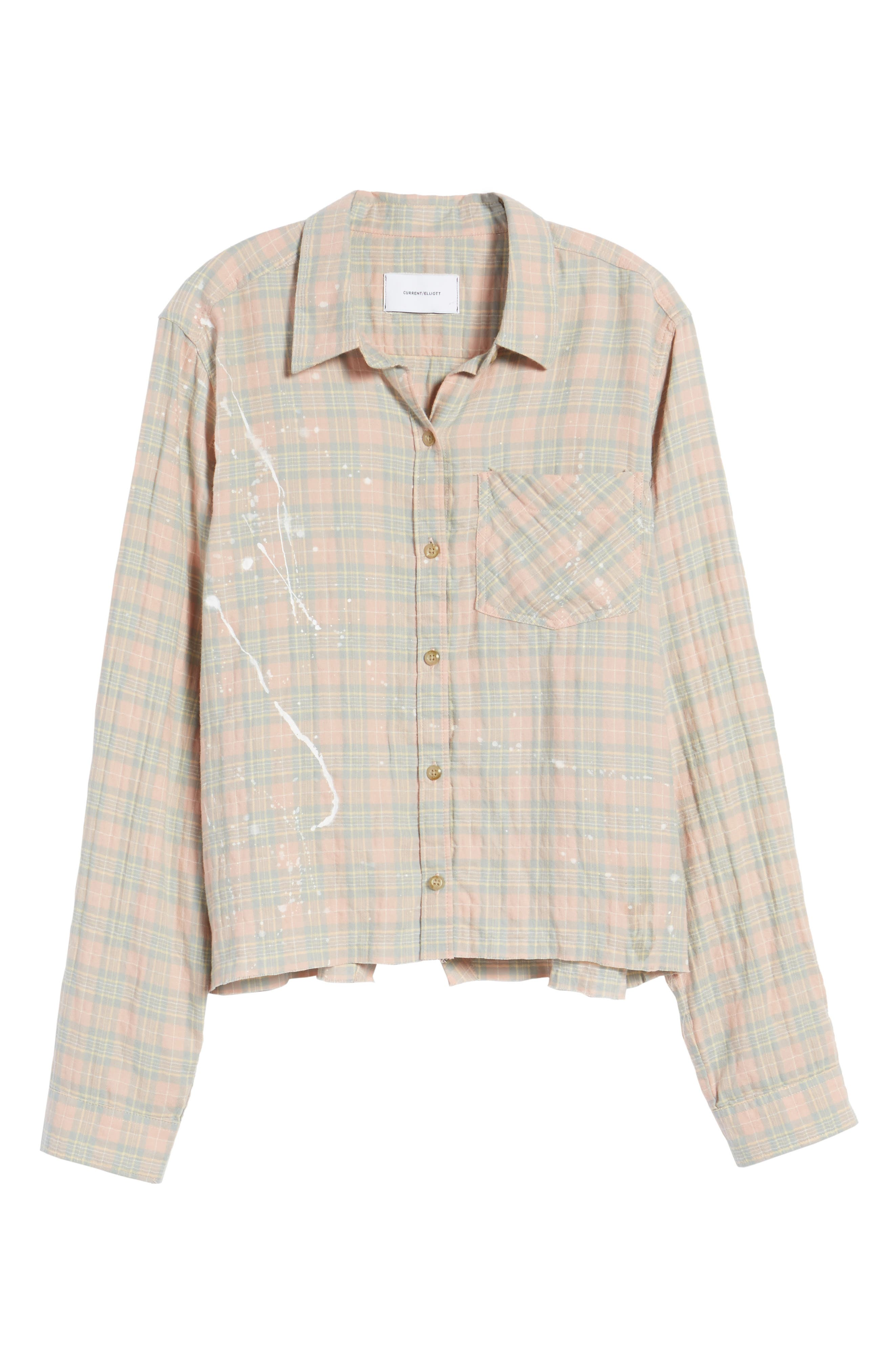 The Ivie Plaid Shirt,                             Alternate thumbnail 6, color,                             Sunshine Plaid