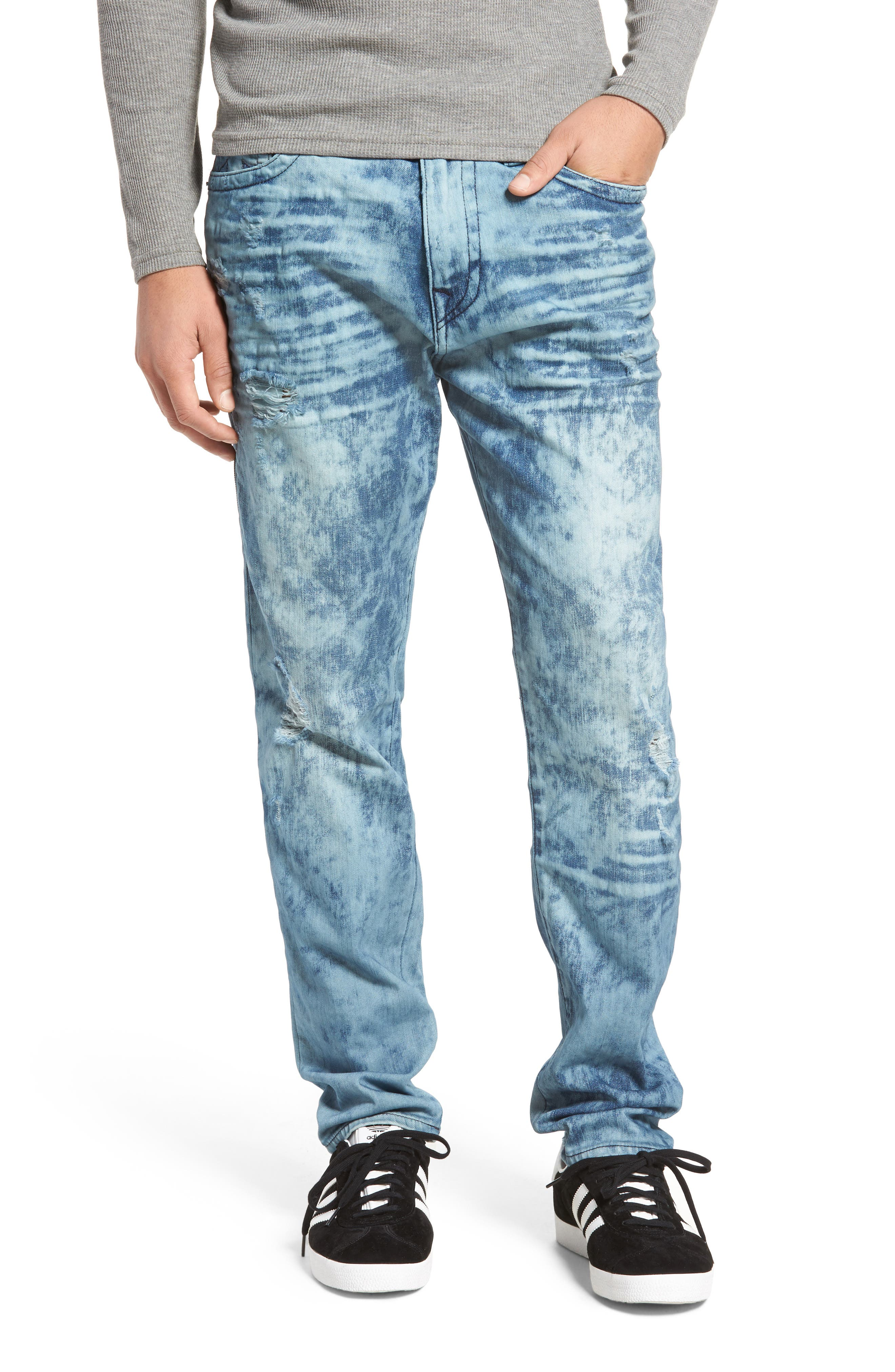 True Religion Brand Jeans Mick Skinny Fit Jeans (Retro Active)