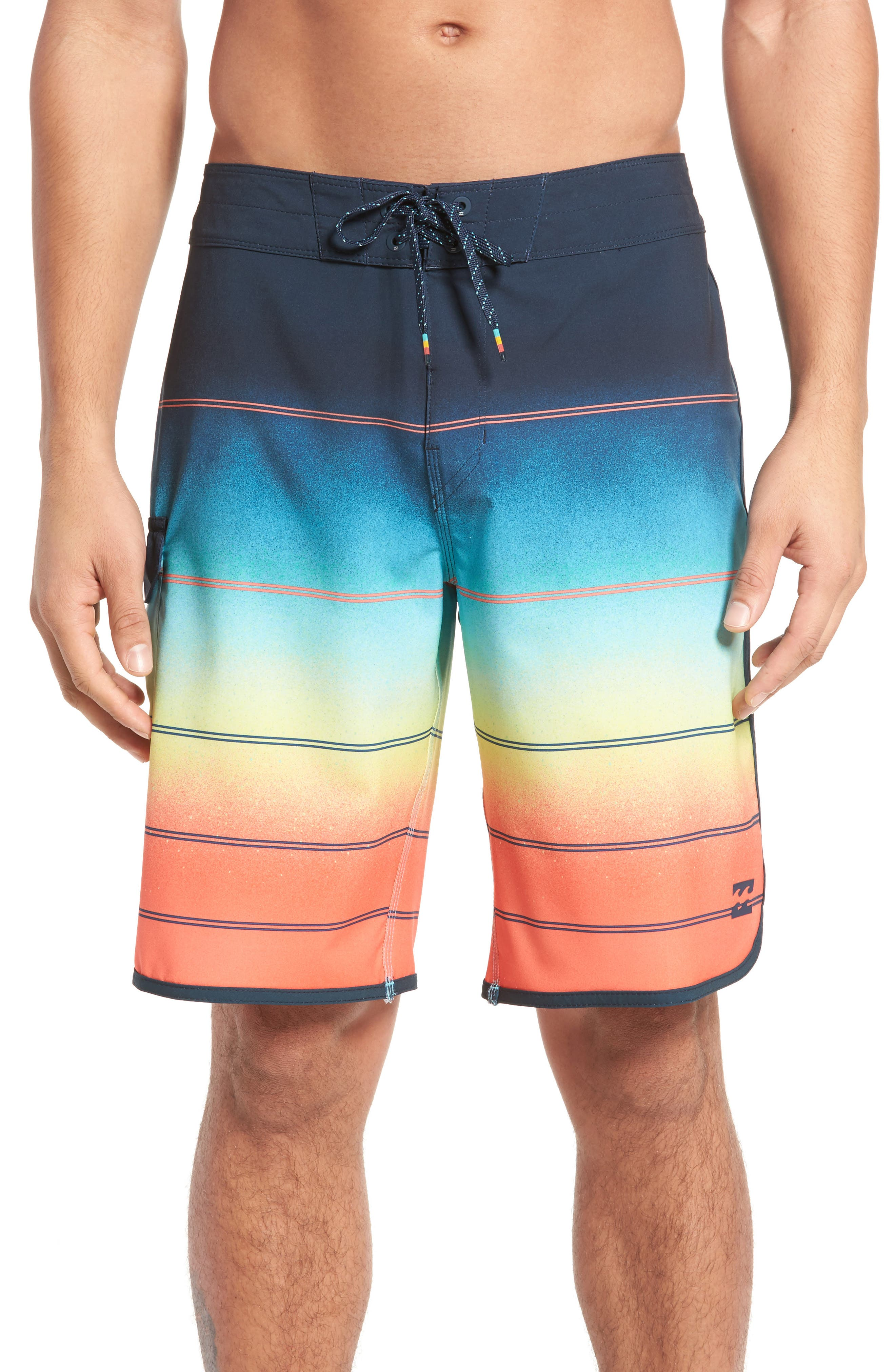 Alternate Image 1 Selected - Billabong 73 X Stripe Board Shorts