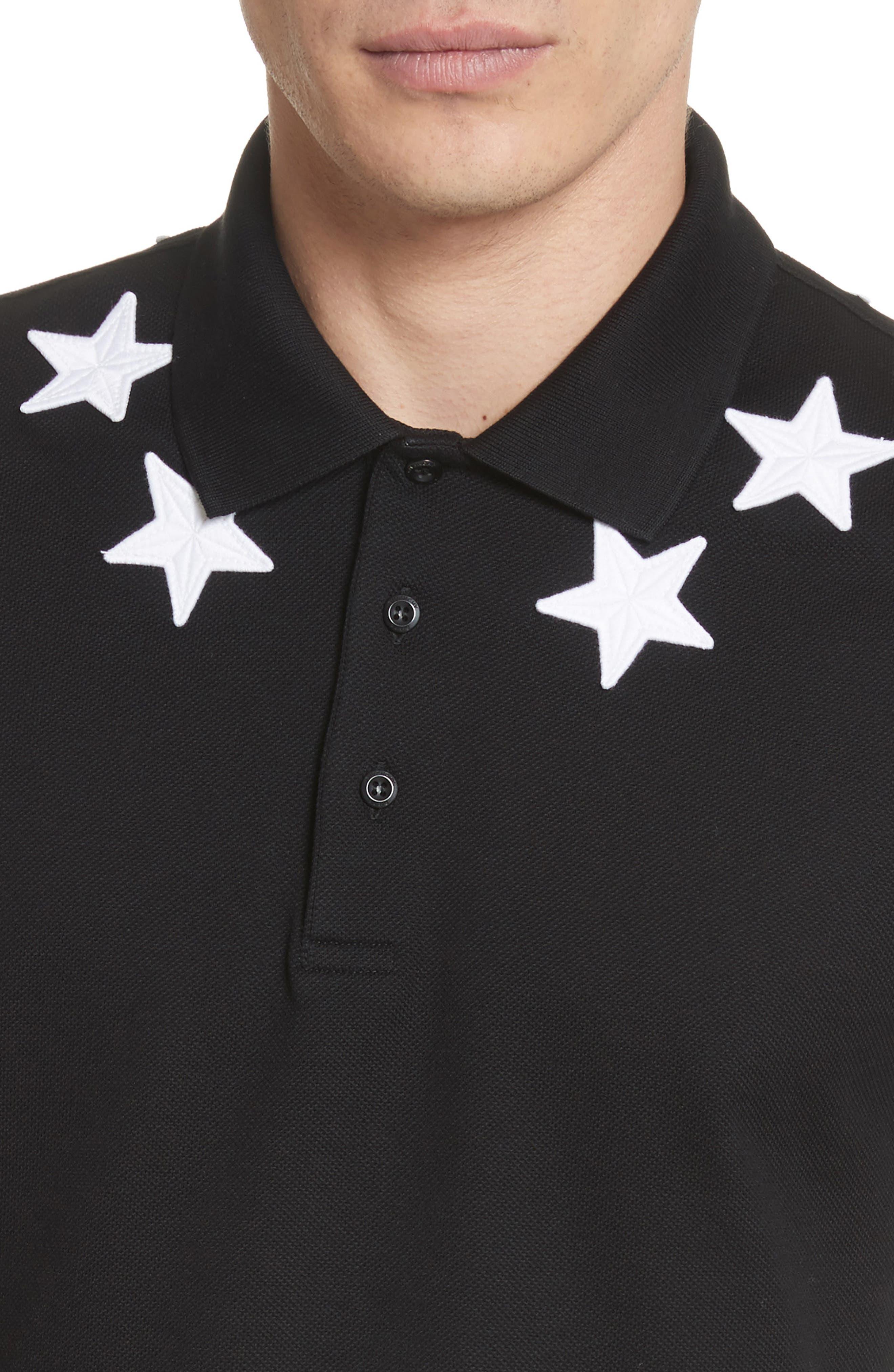 Alternate Image 4  - Givenchy Star Polo Shirt