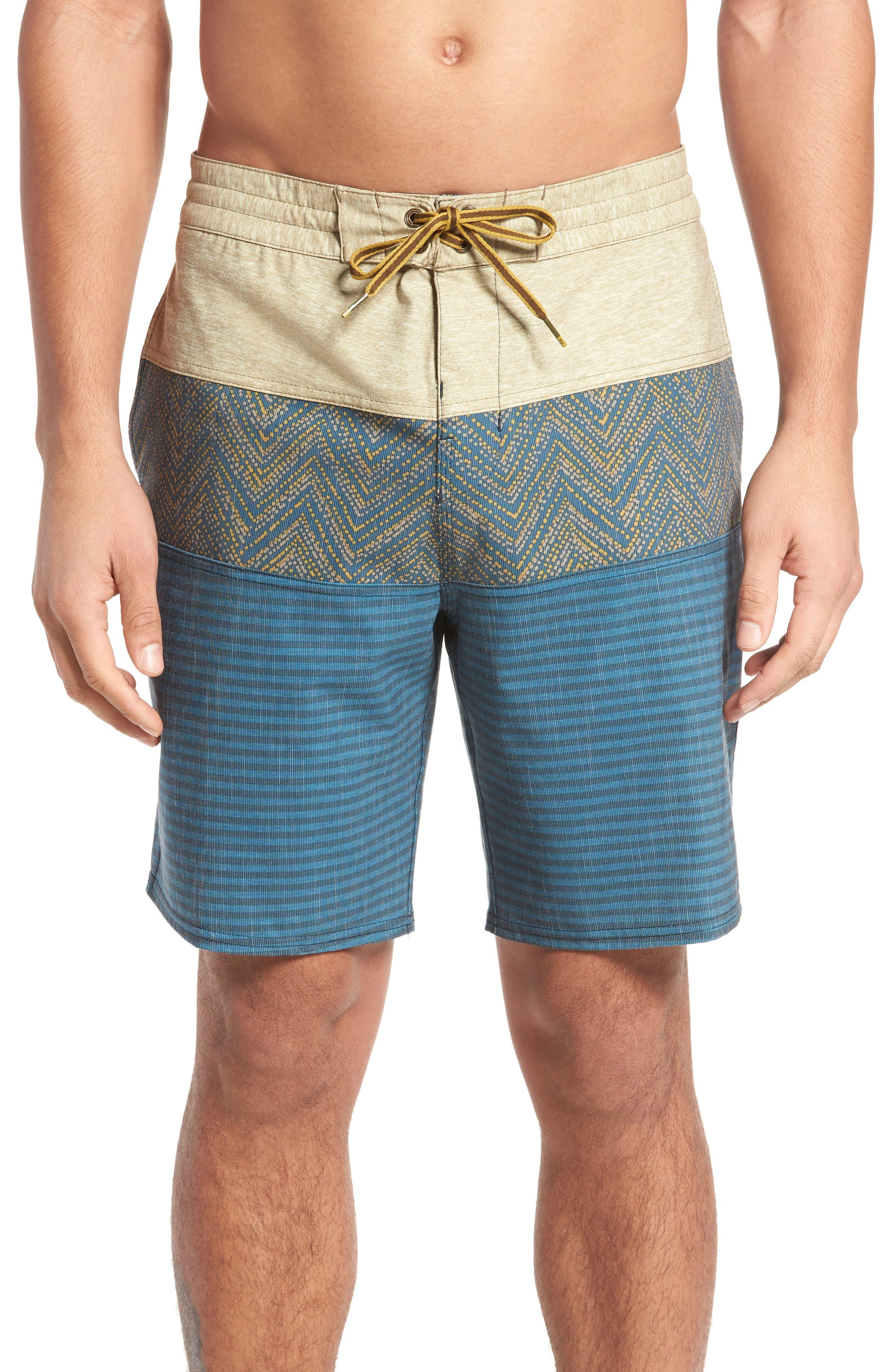 Tribong LT Board Shorts,                         Main,                         color, Dijon