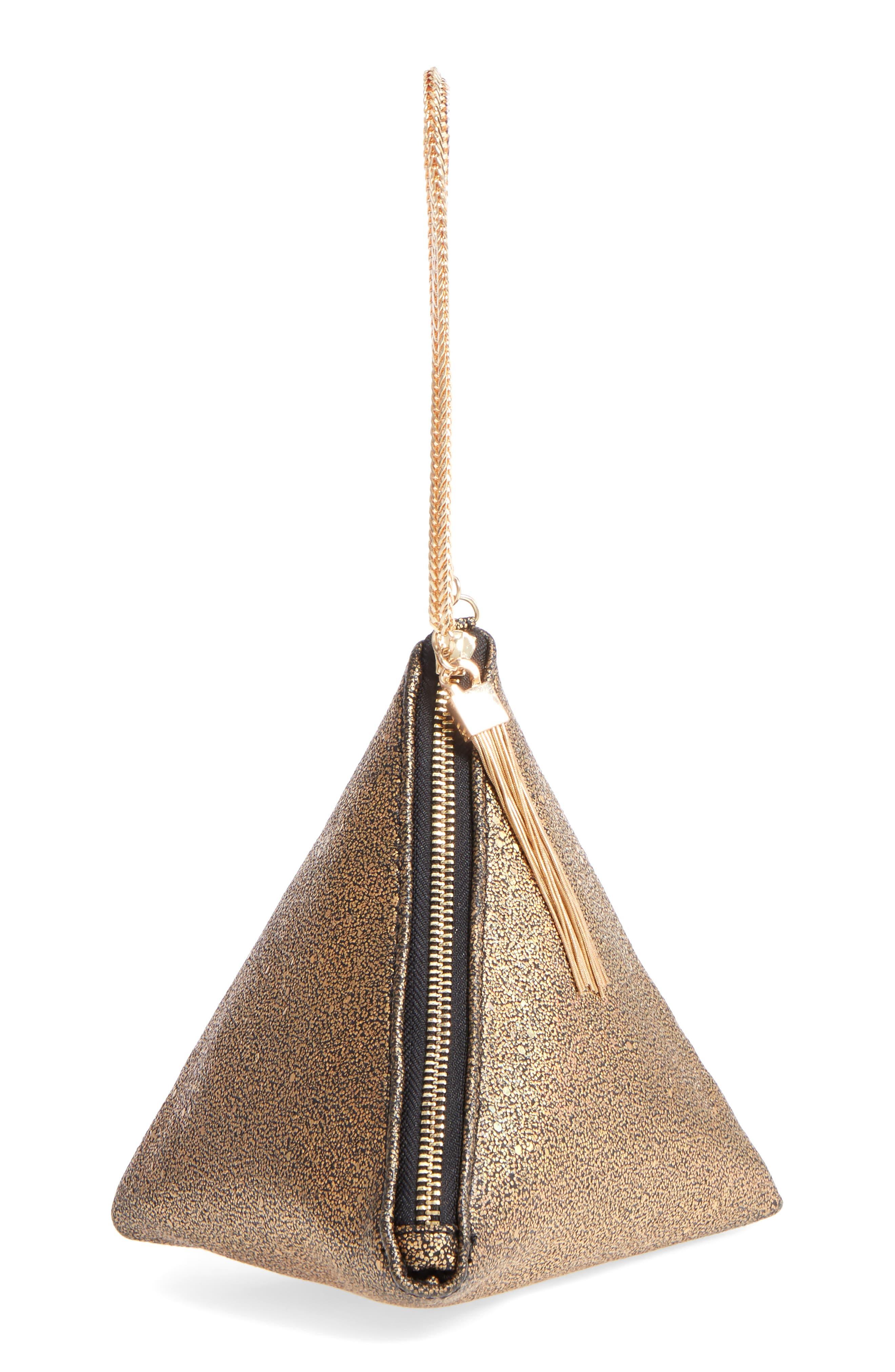Street Level Triangle Clutch