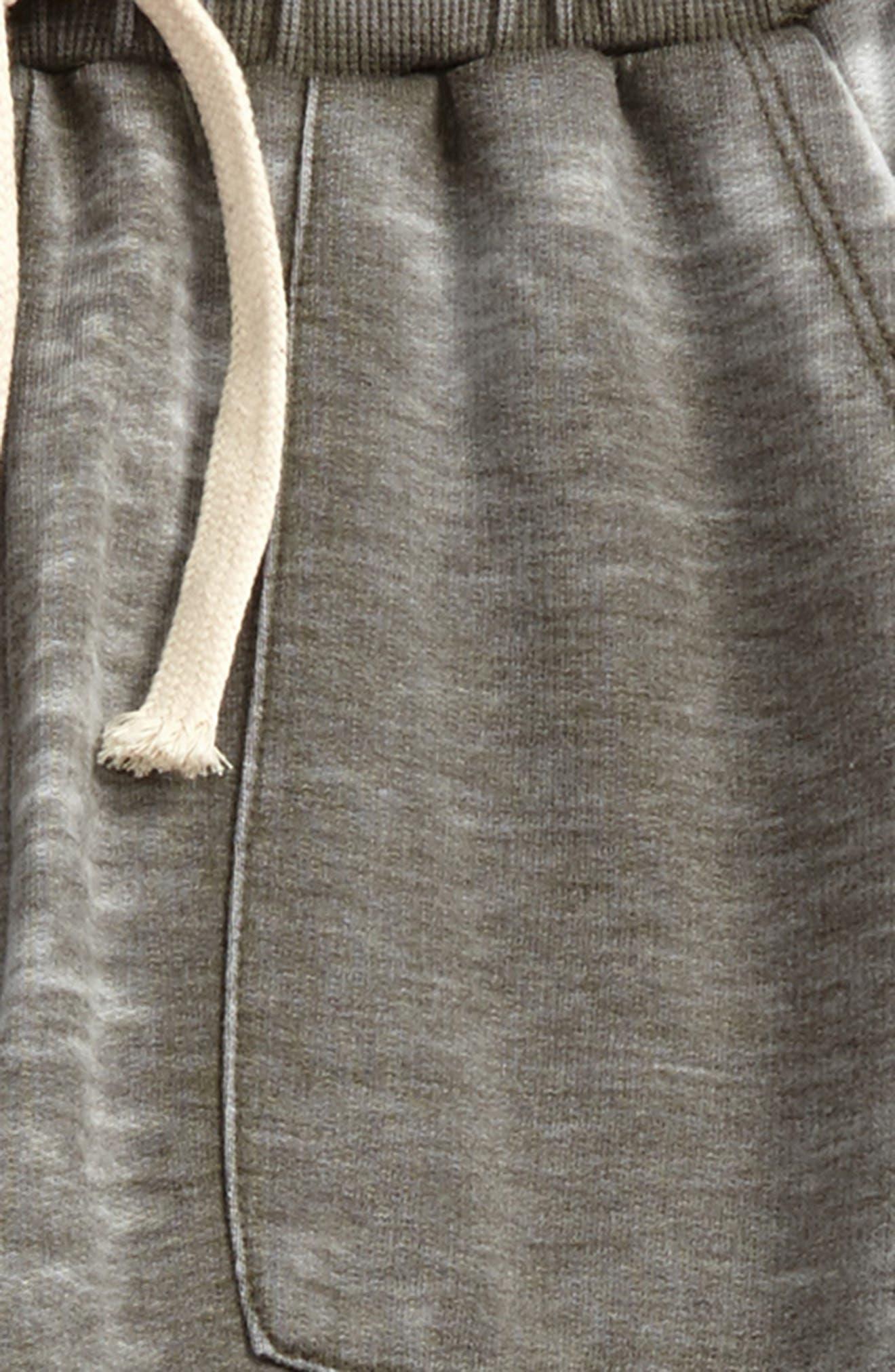 Distressed Sweatpants,                             Alternate thumbnail 2, color,                             Olive