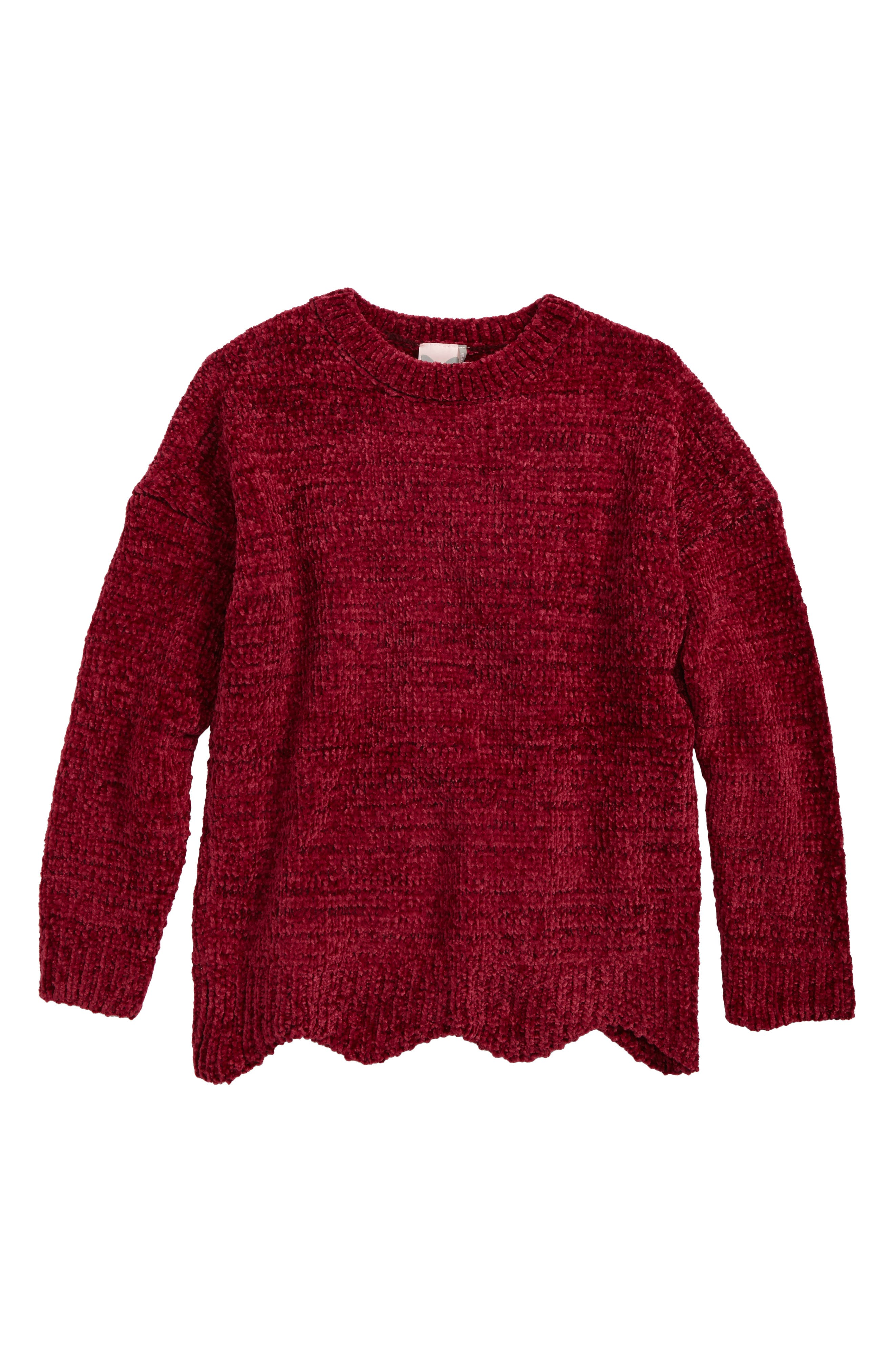 For All Seasons Chenille Sweater (Big Girls)