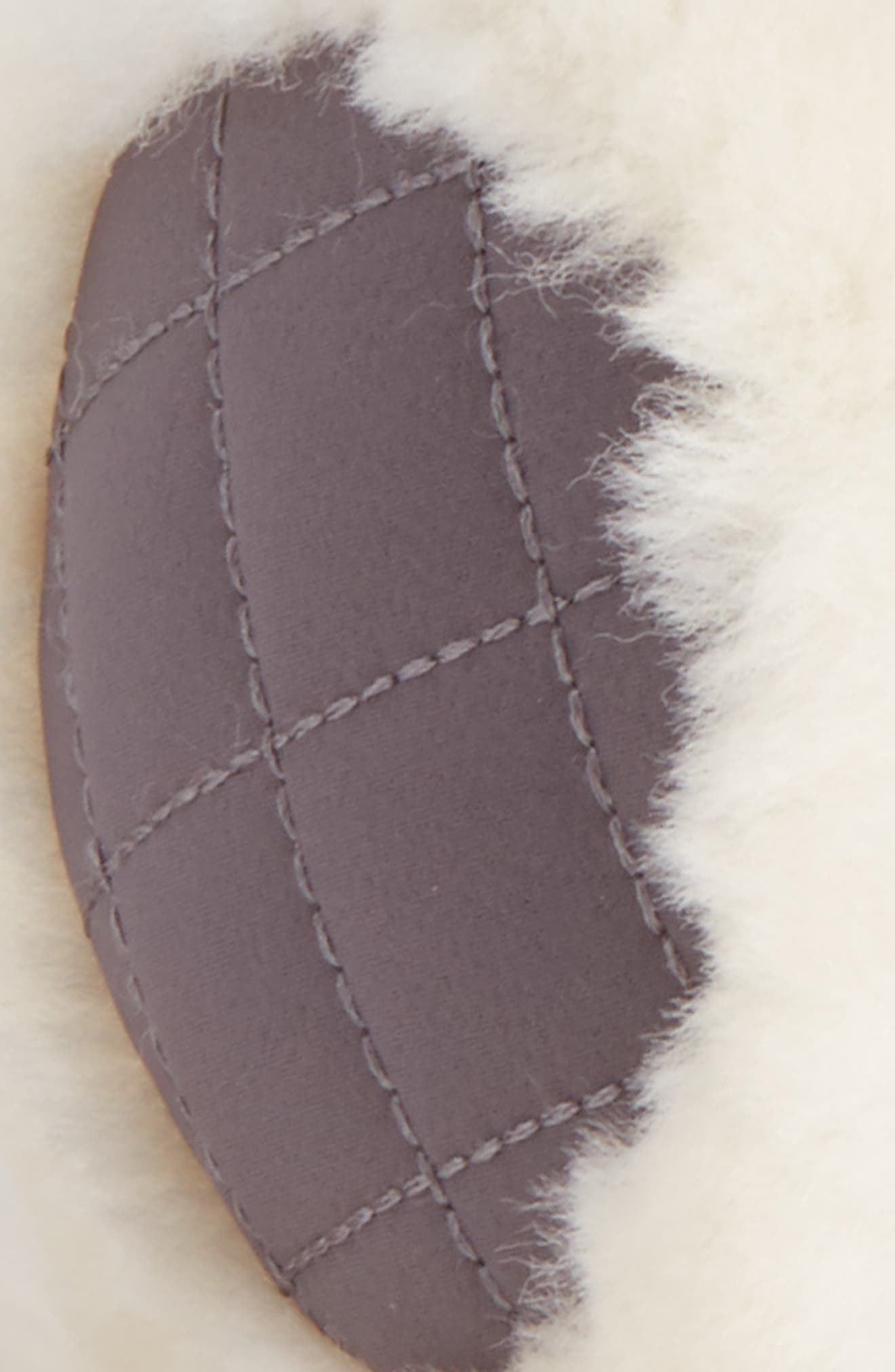 UGG<sup>®</sup> Genuine Shearling Headphone Earmuffs,                             Alternate thumbnail 2, color,                             Grey