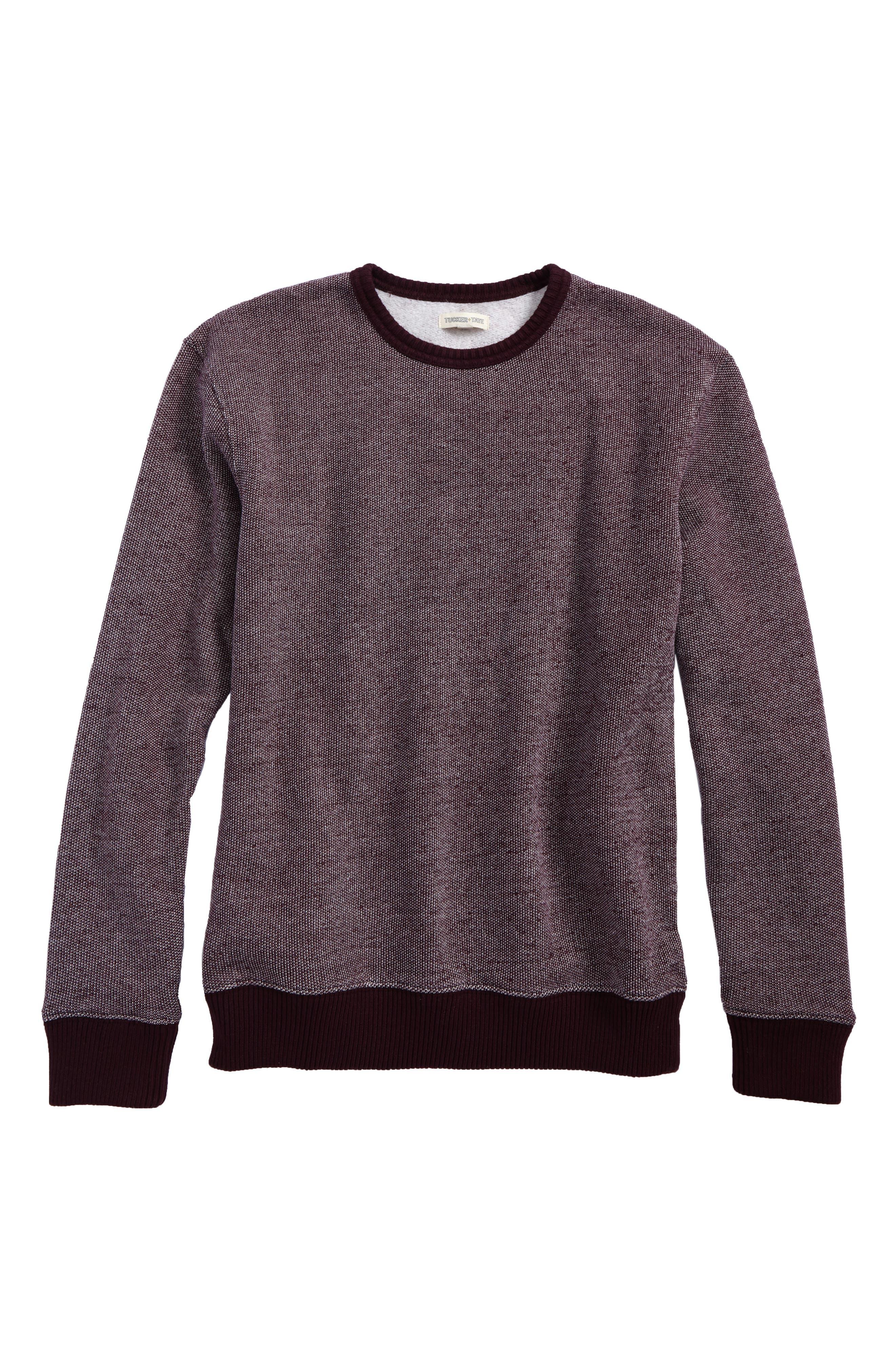 Alternate Image 1 Selected - Tucker + Tate Brushed Fleece Pullover (Big Boys)