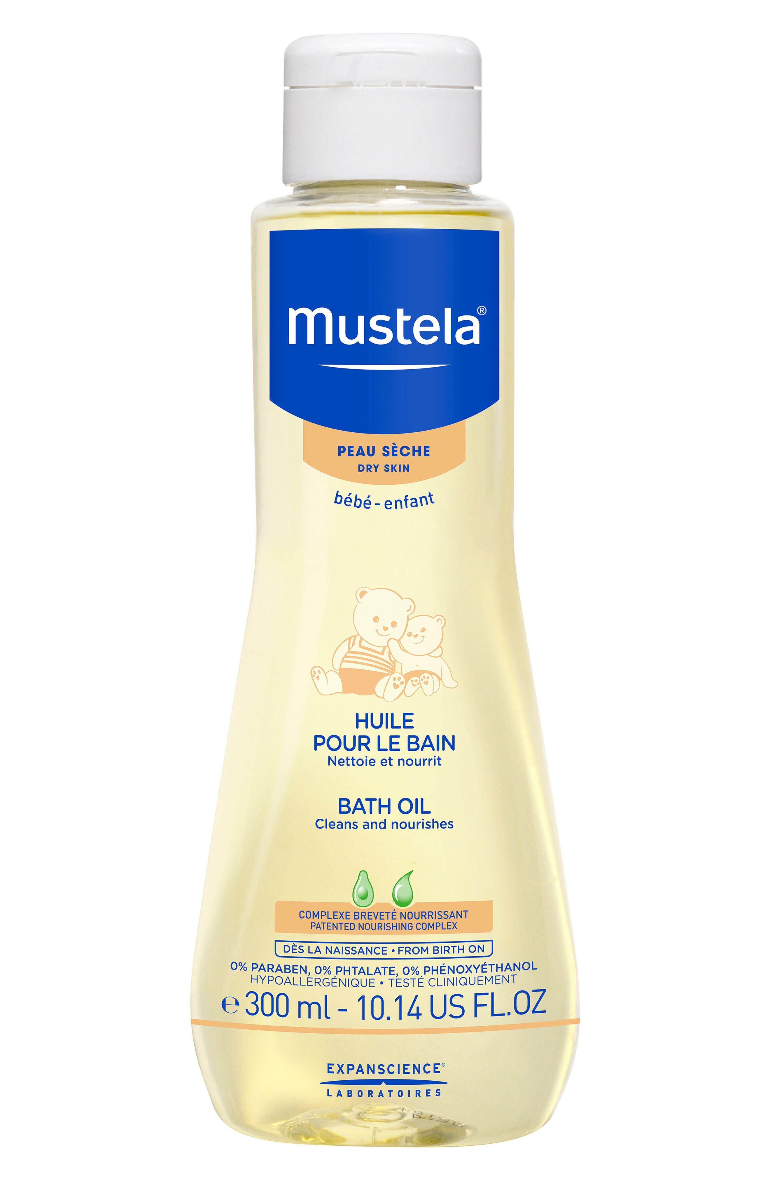 Mustela® Bath Oil for Dry Skin