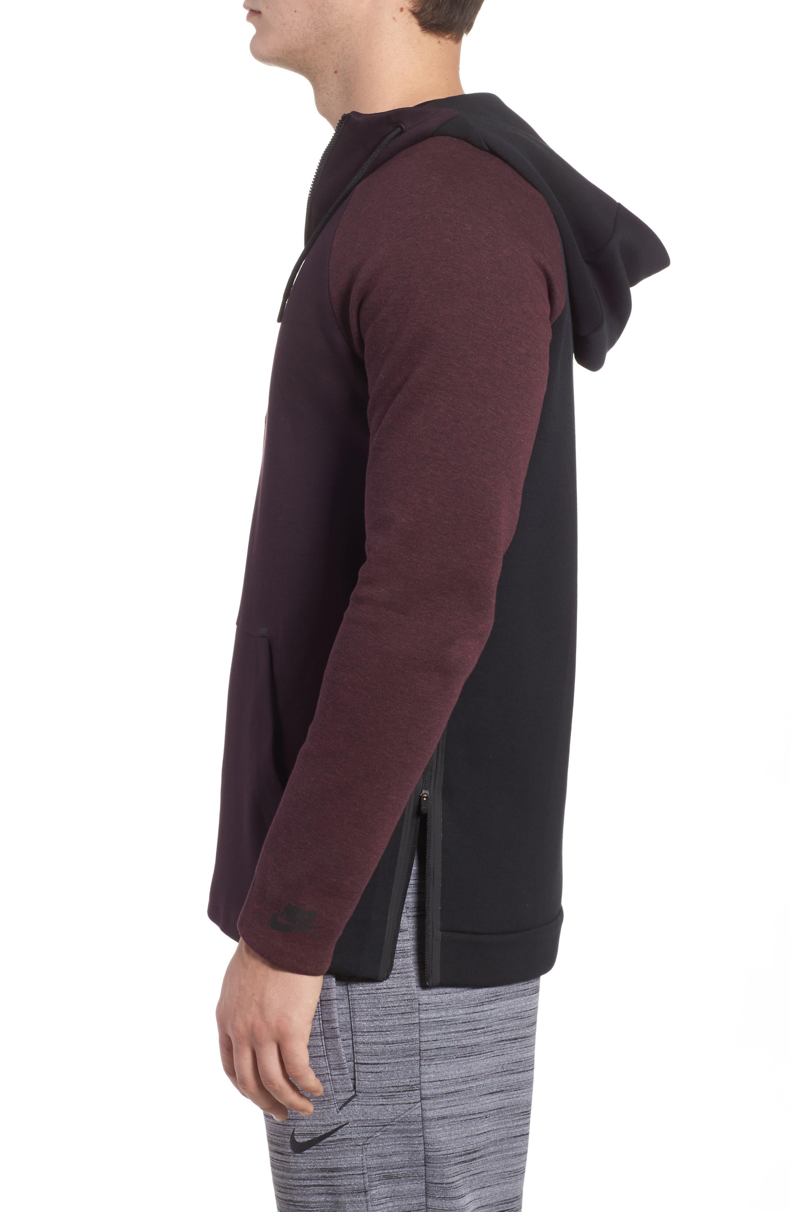 Alternate Image 3  - Nike Half-Zip Pullover Hoodie