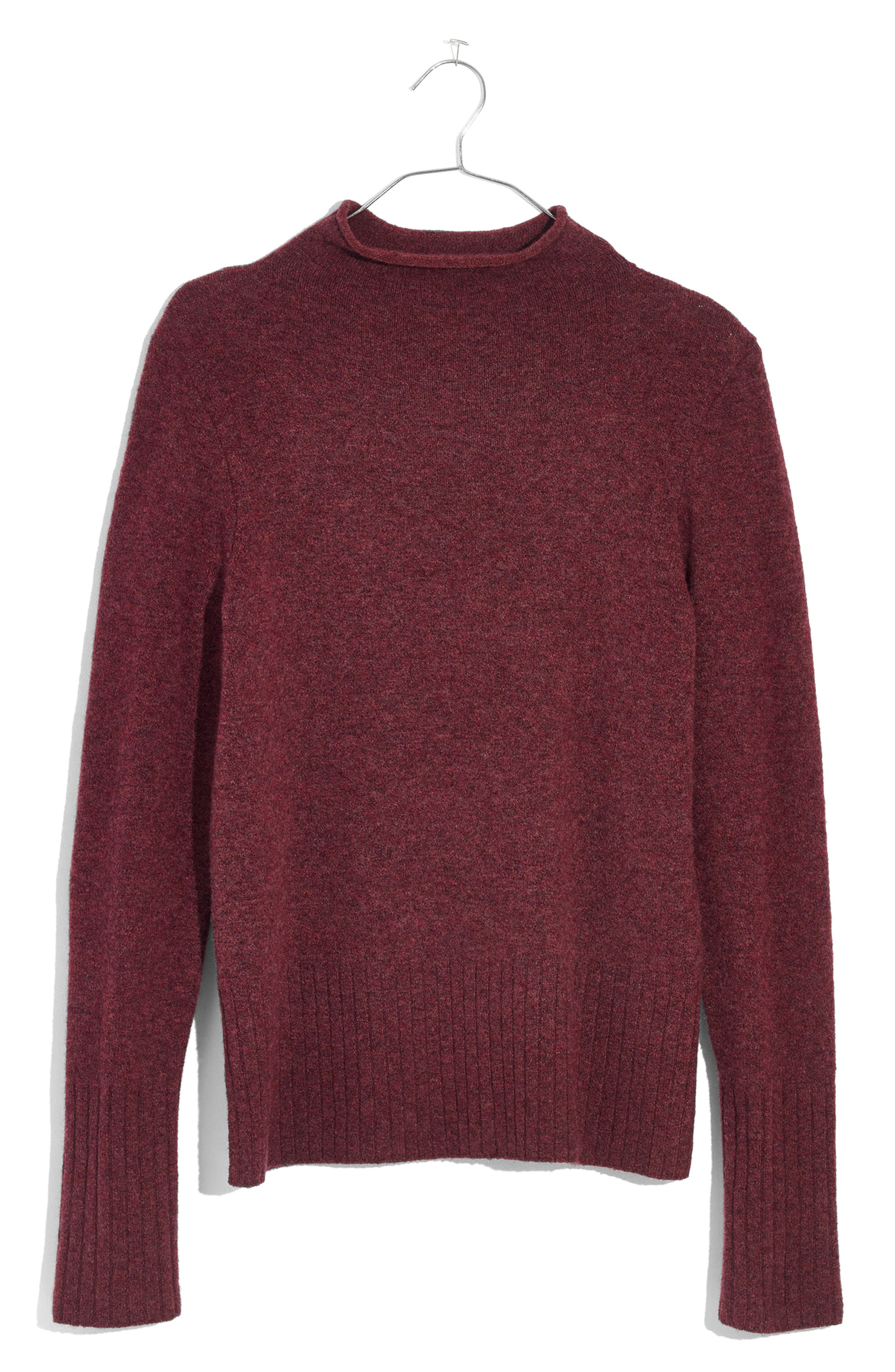 Madewell Womens Sweaters Clothing Accessories Nordstrom Torch Tunik Women Burgundy Maroon L