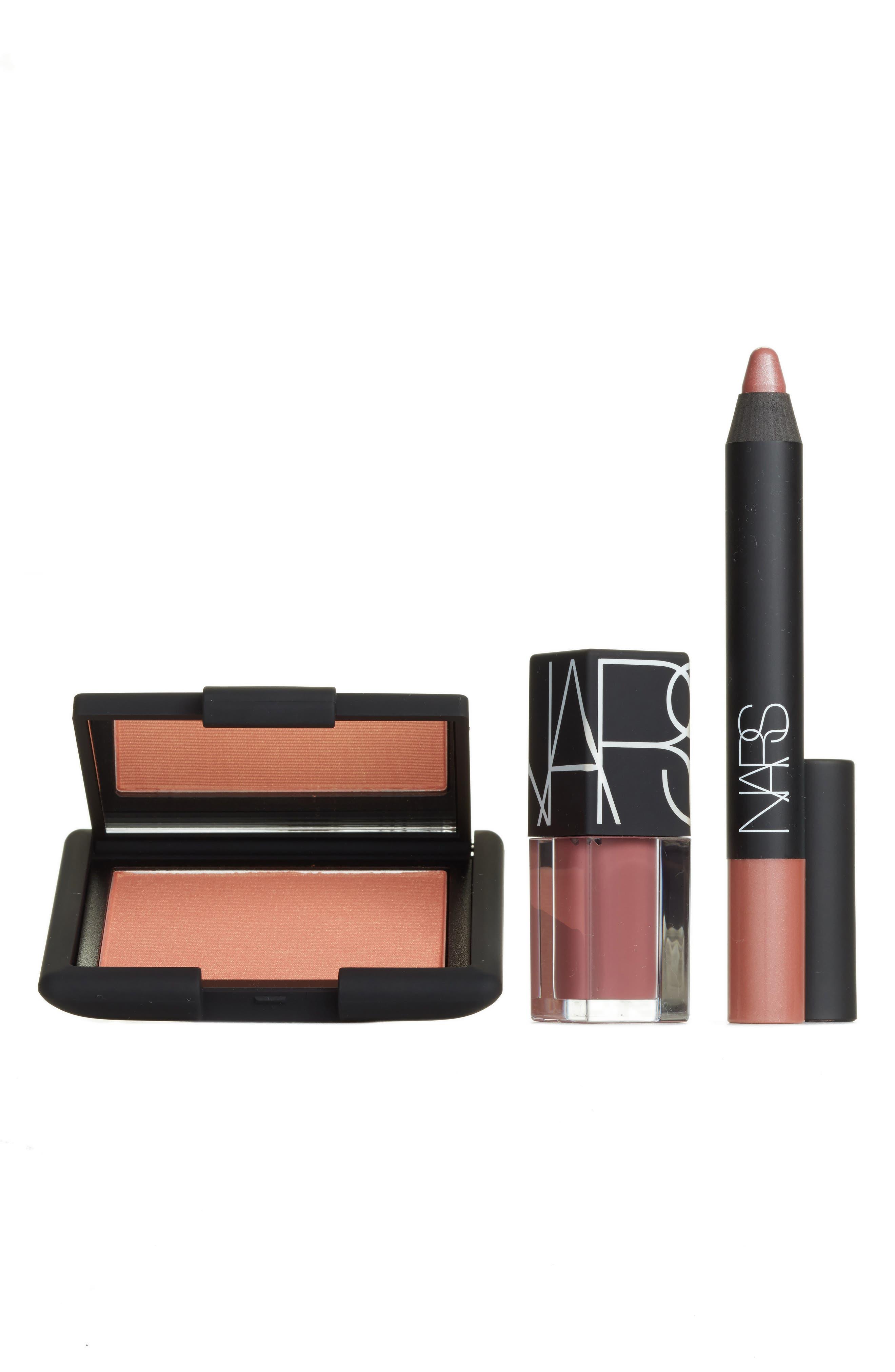 Alternate Image 1 Selected - NARS Nude Lip & Cheek Trio (Nordstrom Online Exclusive) ($66 Value)