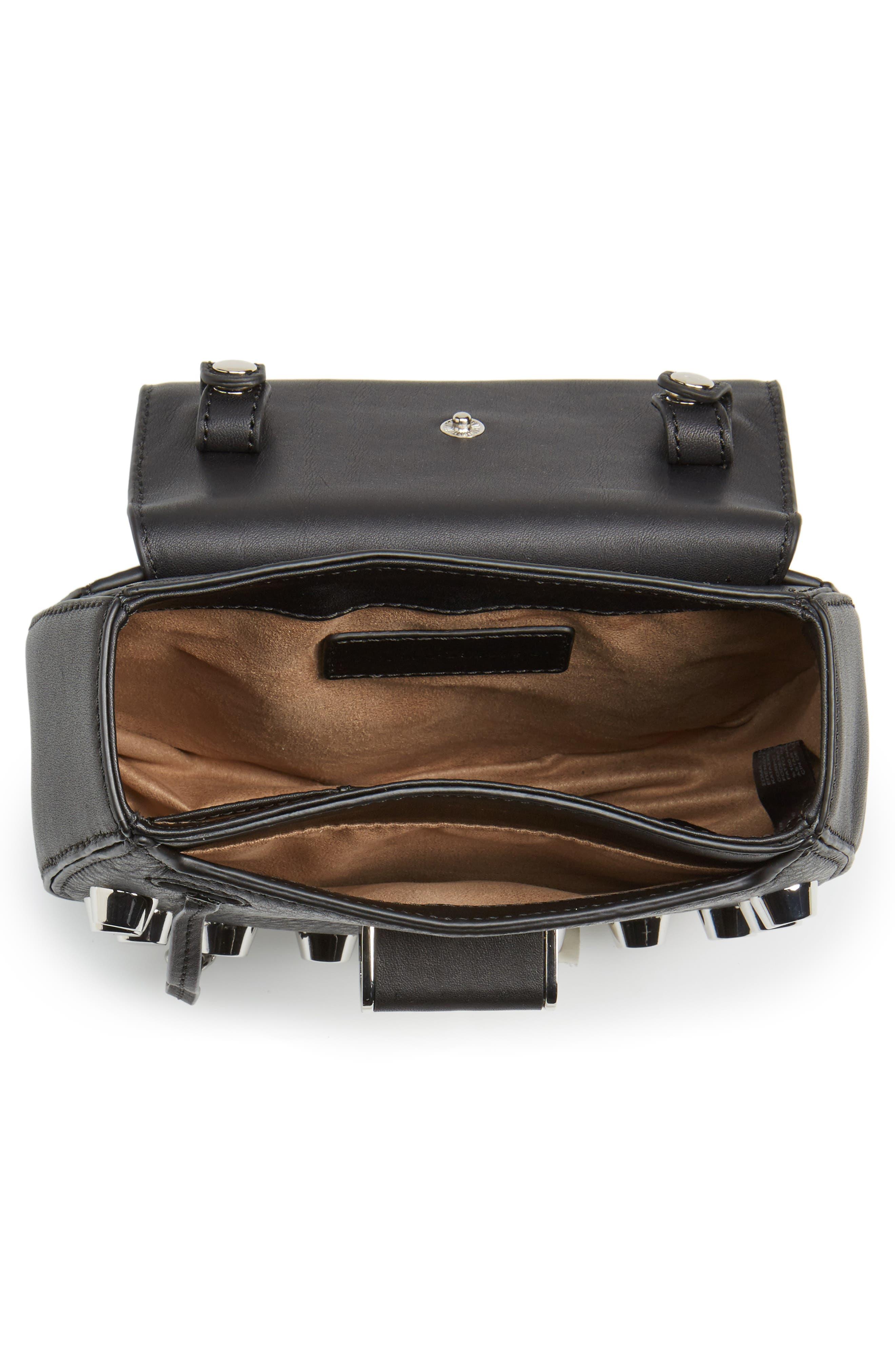 Alternate Image 4  - Mackage Wilma Studded Leather Crossbody Bag