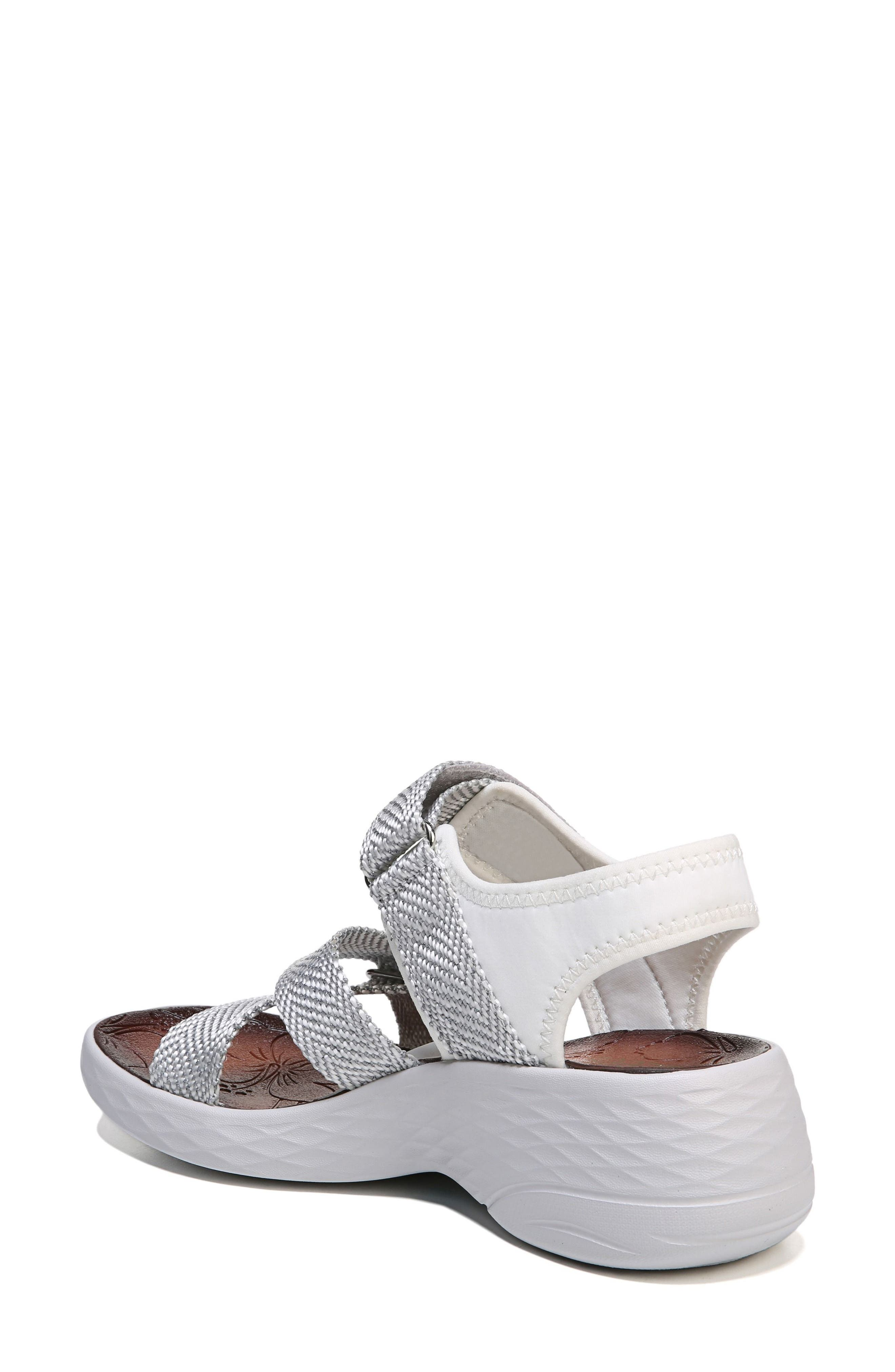 Jive Sandal,                             Alternate thumbnail 2, color,                             White Fabric