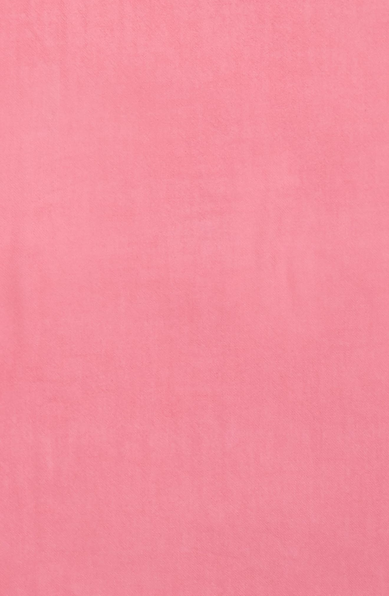 Tissue Weight Wool &Cashmere Scarf,                             Alternate thumbnail 3, color,                             Pink Zenna
