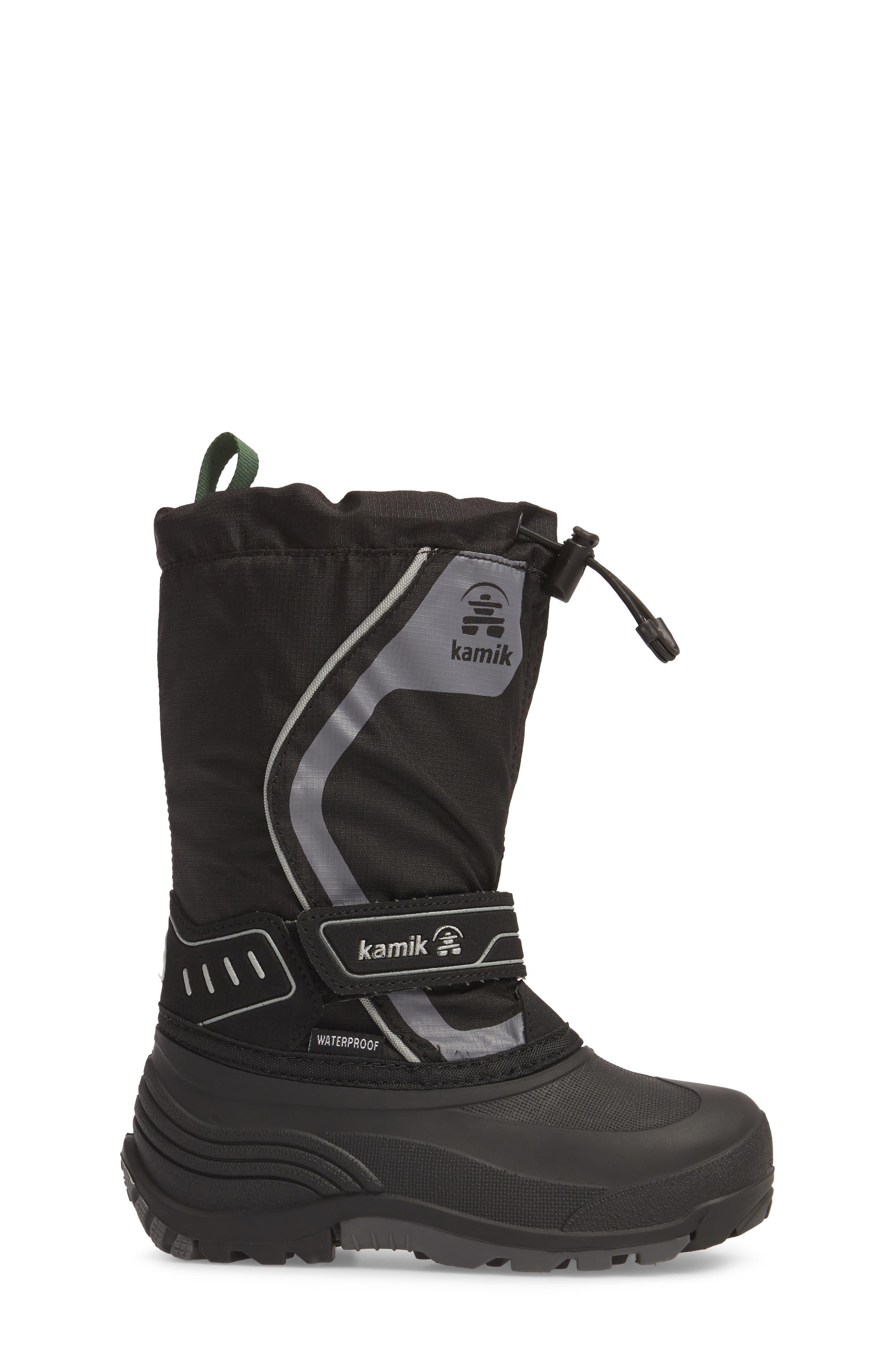 Alternate Image 3  - Kamik Snowcoast3 Waterproof Snow Boot (Toddler, Little Kid & Big Kid)