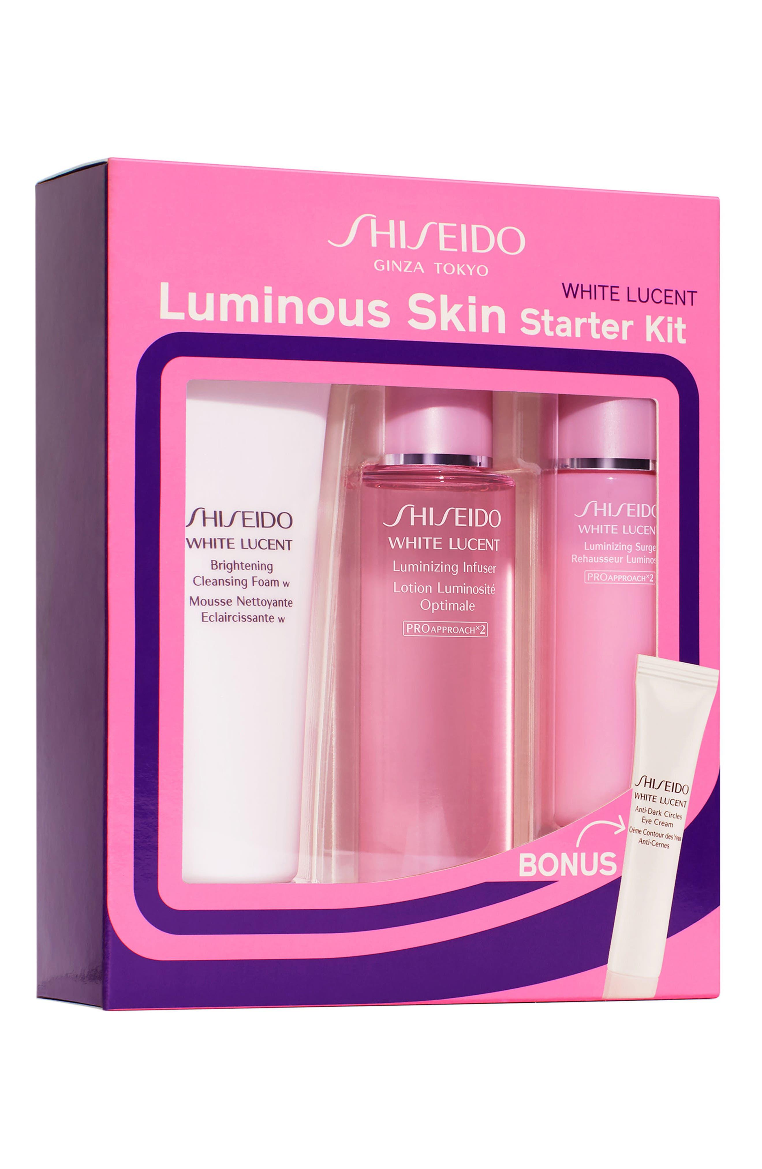 White Lucent Luminous Skin Starter Kit,                             Alternate thumbnail 3, color,                             No Color