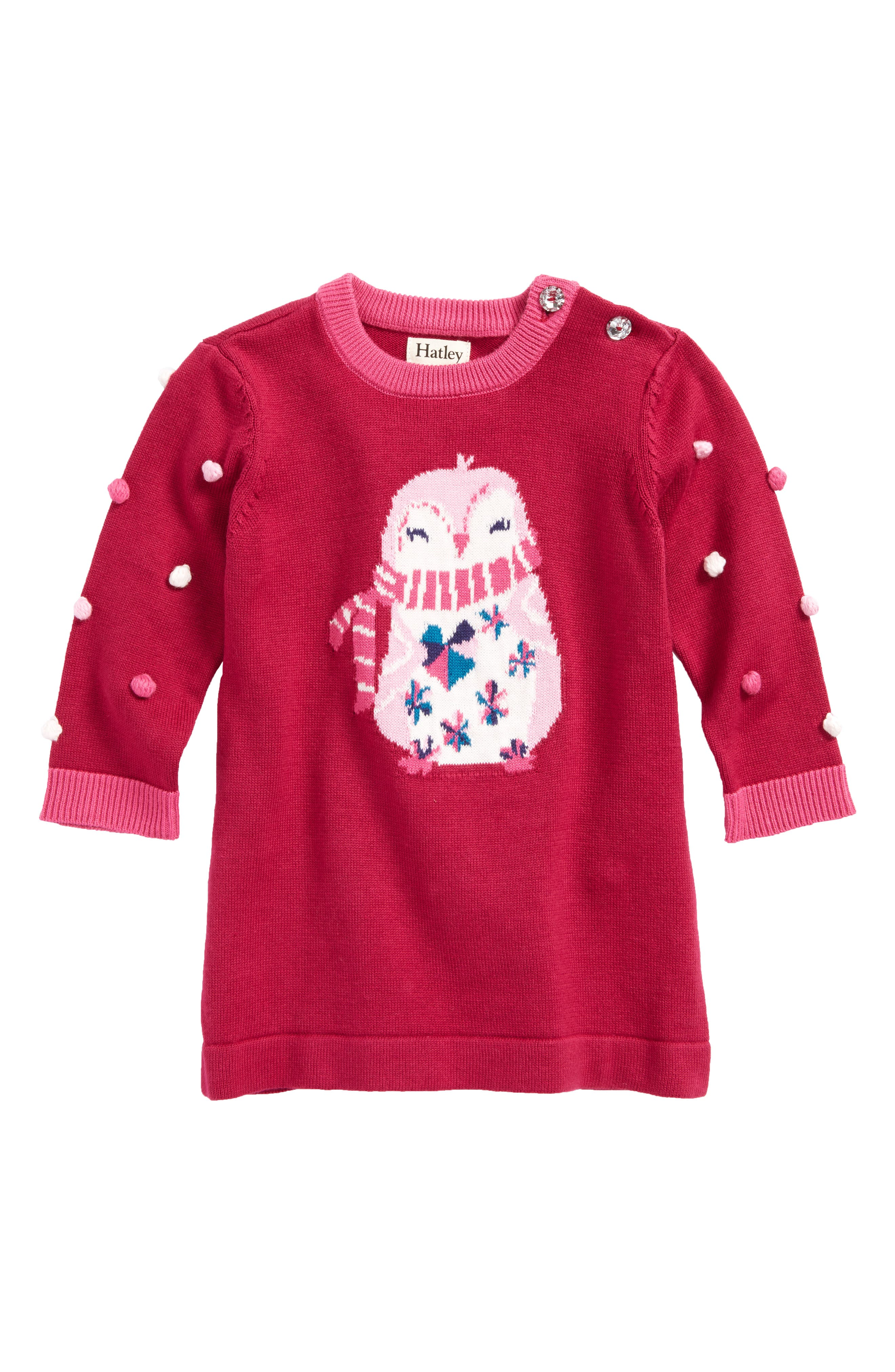 Hatley Penguin Sweater Dress (Baby Girls)