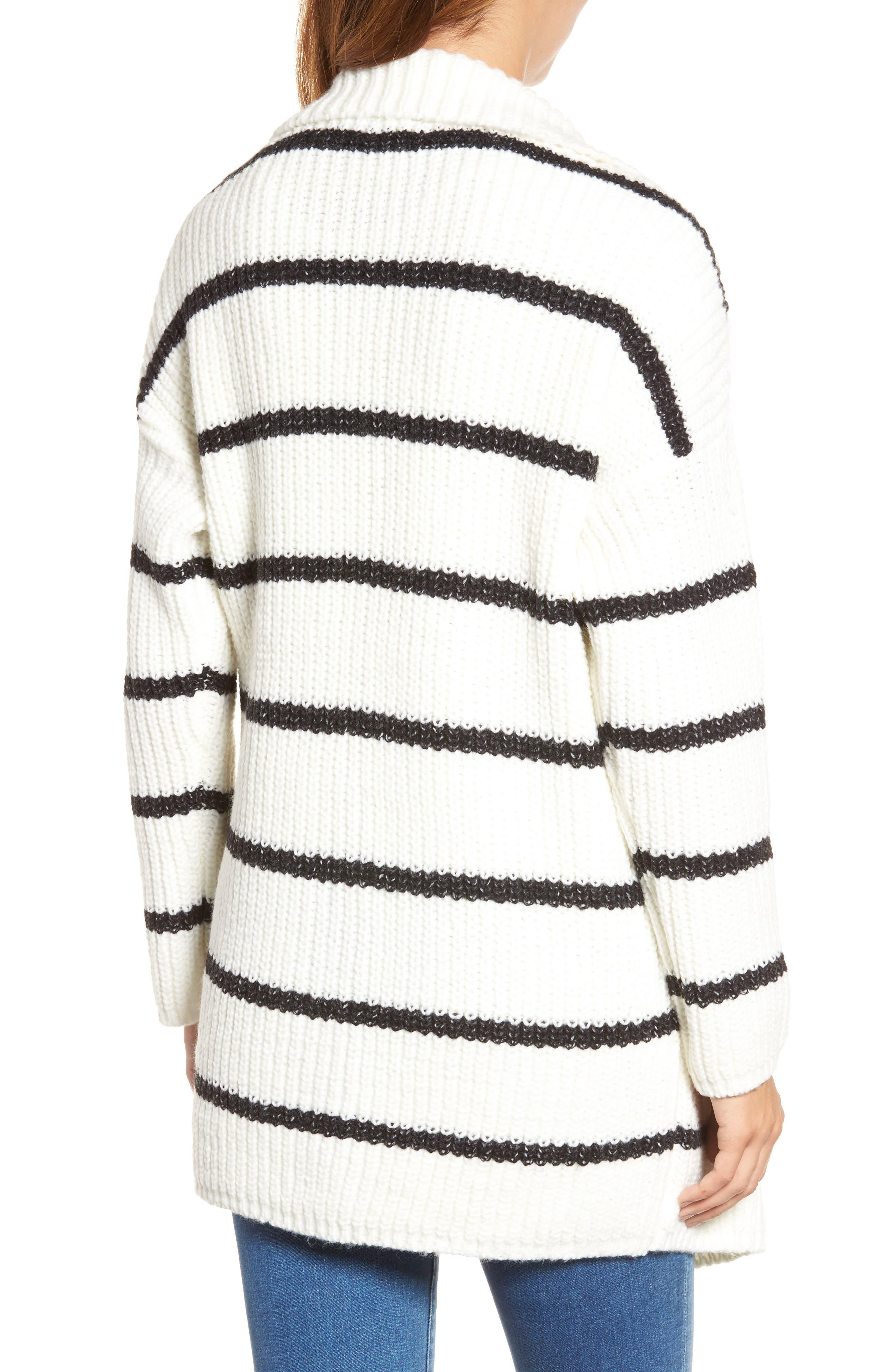 Alternate Image 2  - Press Oversized Notch Collar Cardigan