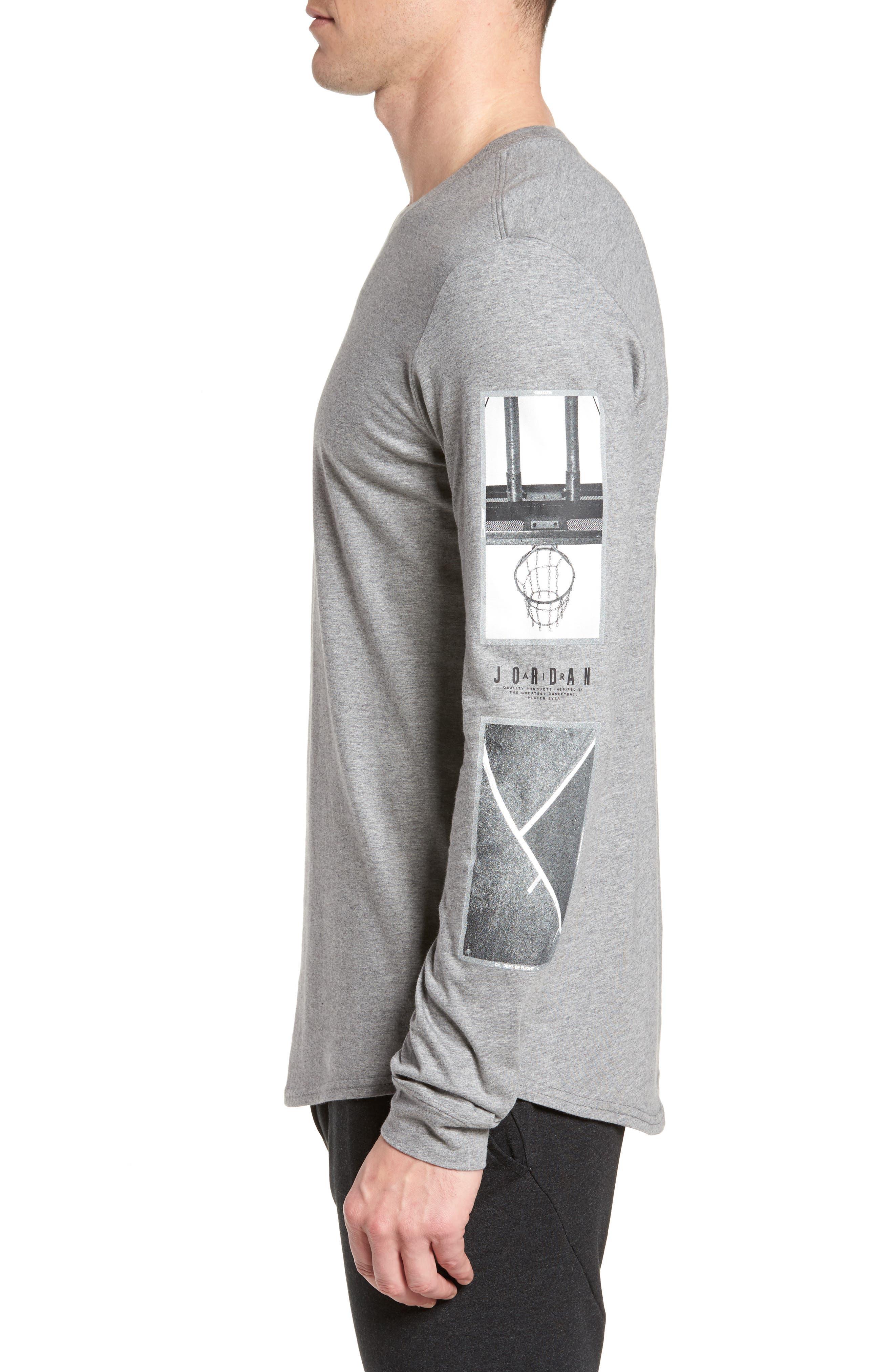 Alternate Image 3  - Nike Jordan Sportswear Photo Sleeve T-Shirt