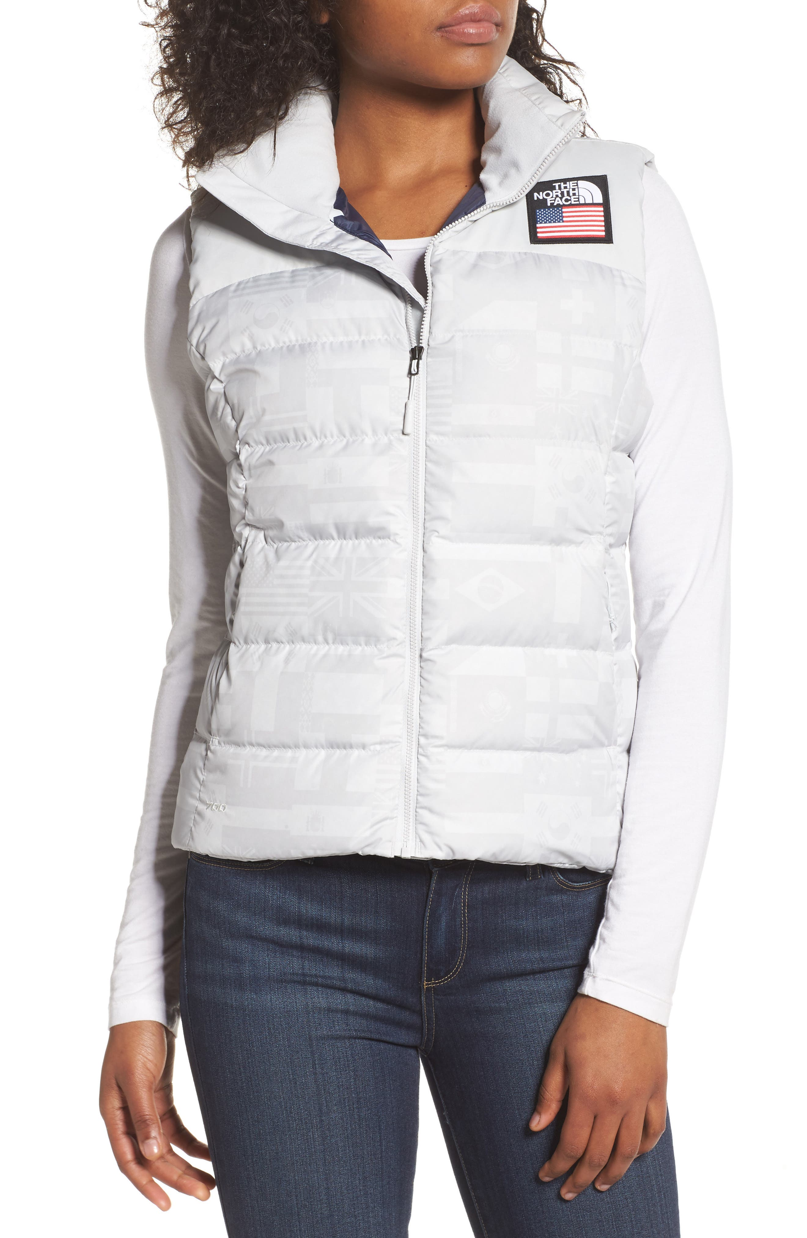 Main Image - The North Face International Collection Nuptse 700-Fill Power Down Puffer Vest