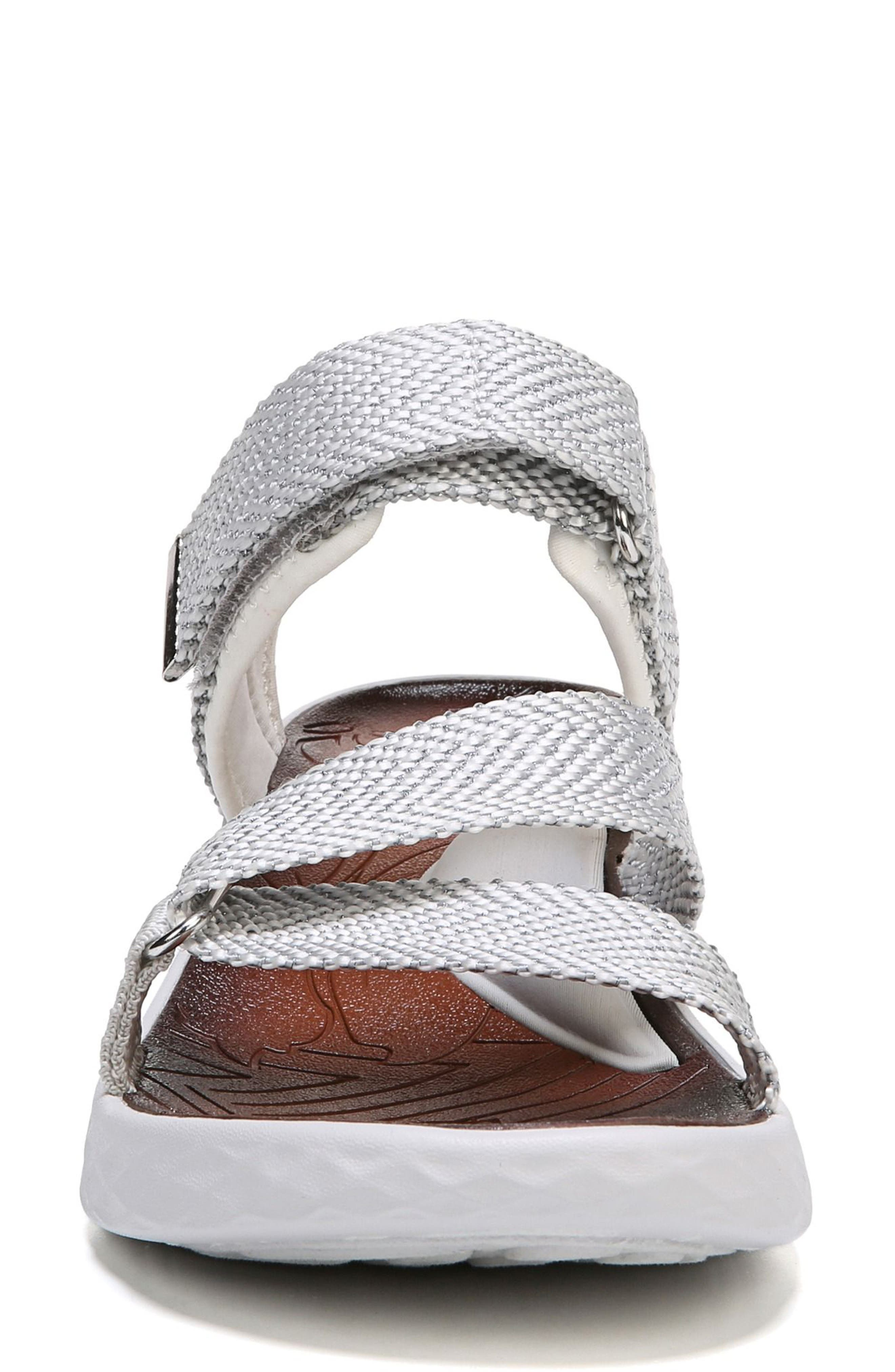 Jive Sandal,                             Alternate thumbnail 5, color,                             White Fabric