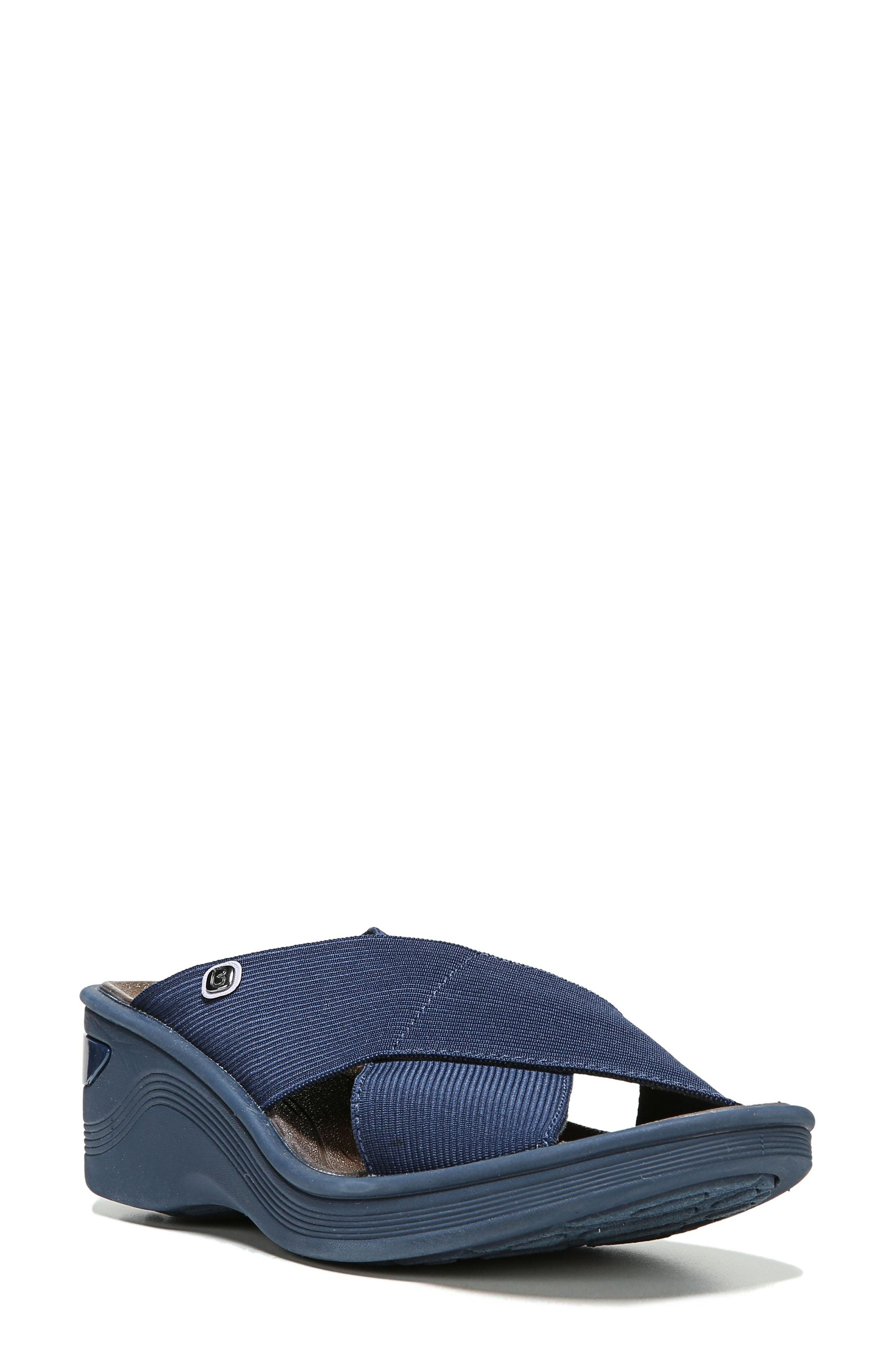 BZees 'Desire' Wedge Sandal (Women)