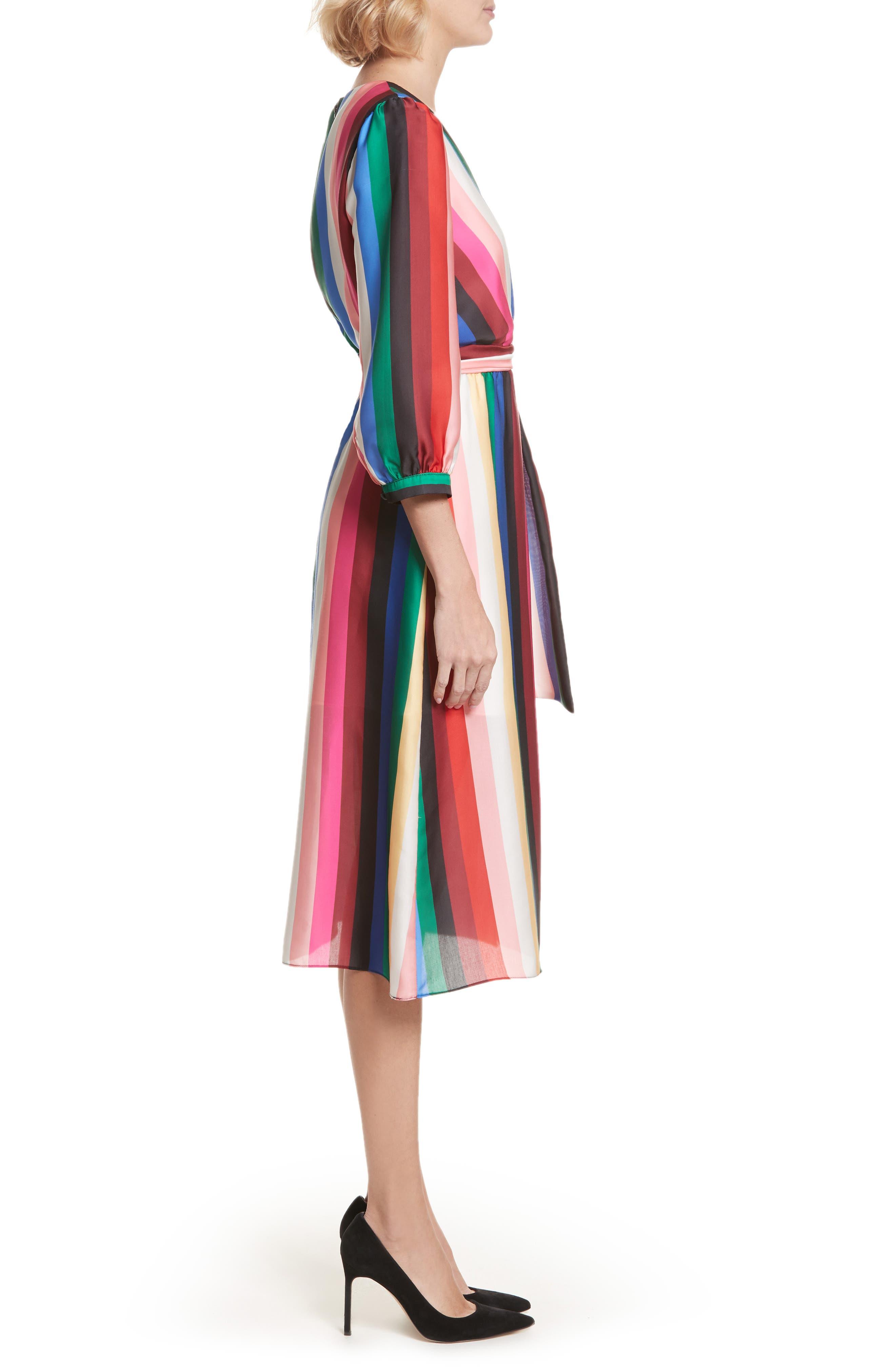 Alternate Image 3  - Alice + Olivia Dyanna Midi Dress