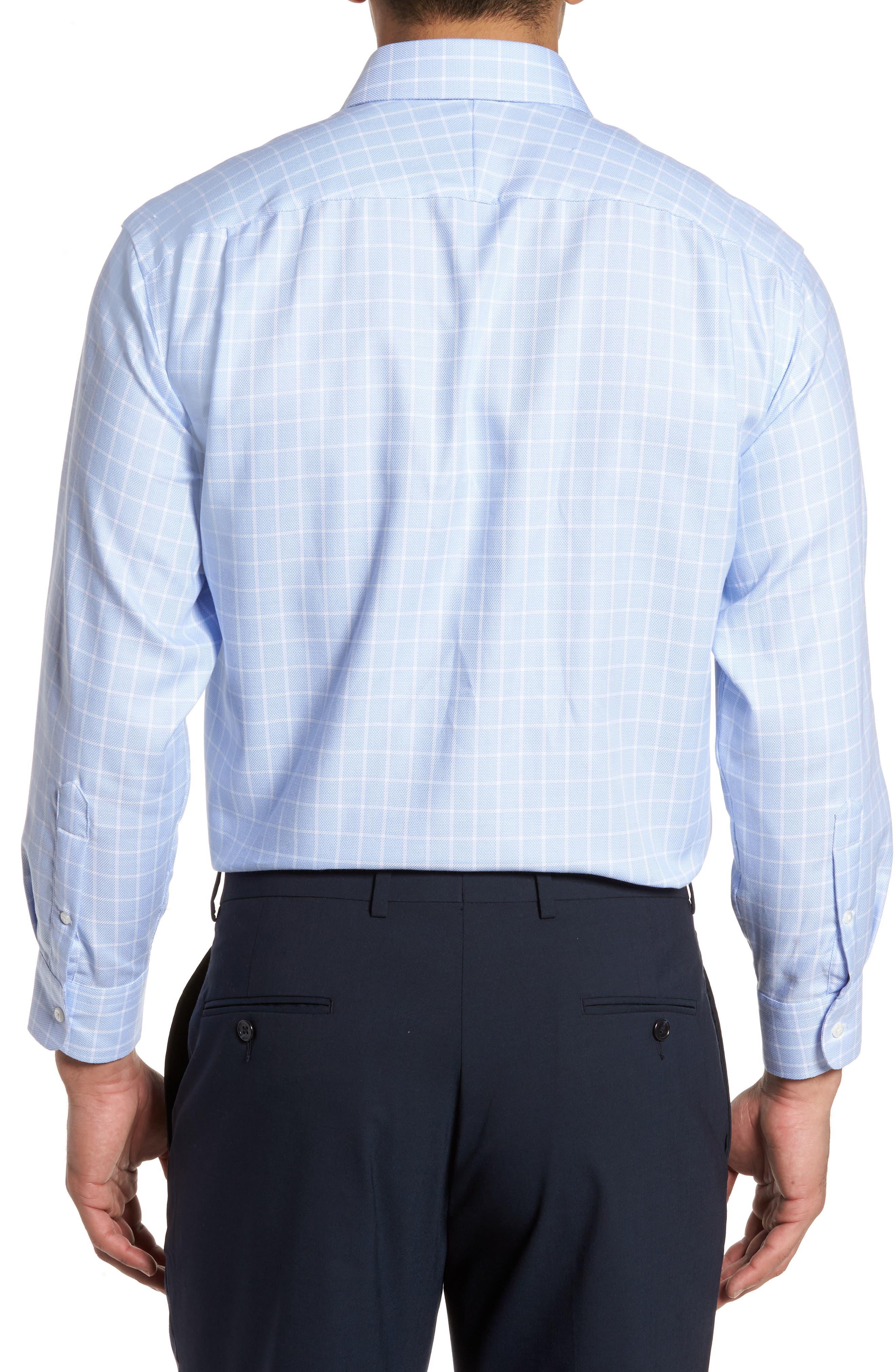 Alternate Image 2  - Nordstrom Men's Shop Classic Fit No-Iron Check Dress Shirt