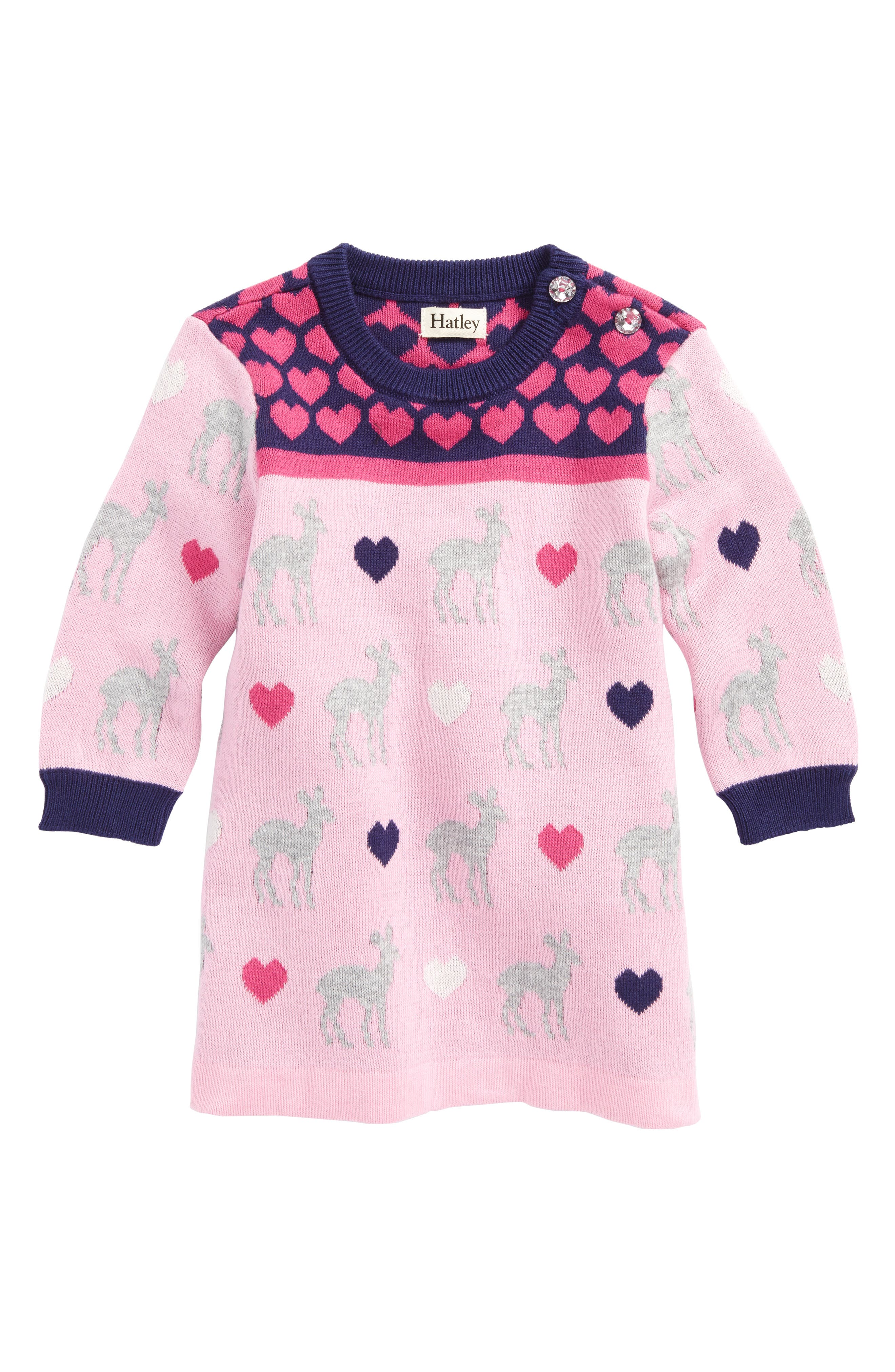 Hatley Sweater Dress (Baby Girls)