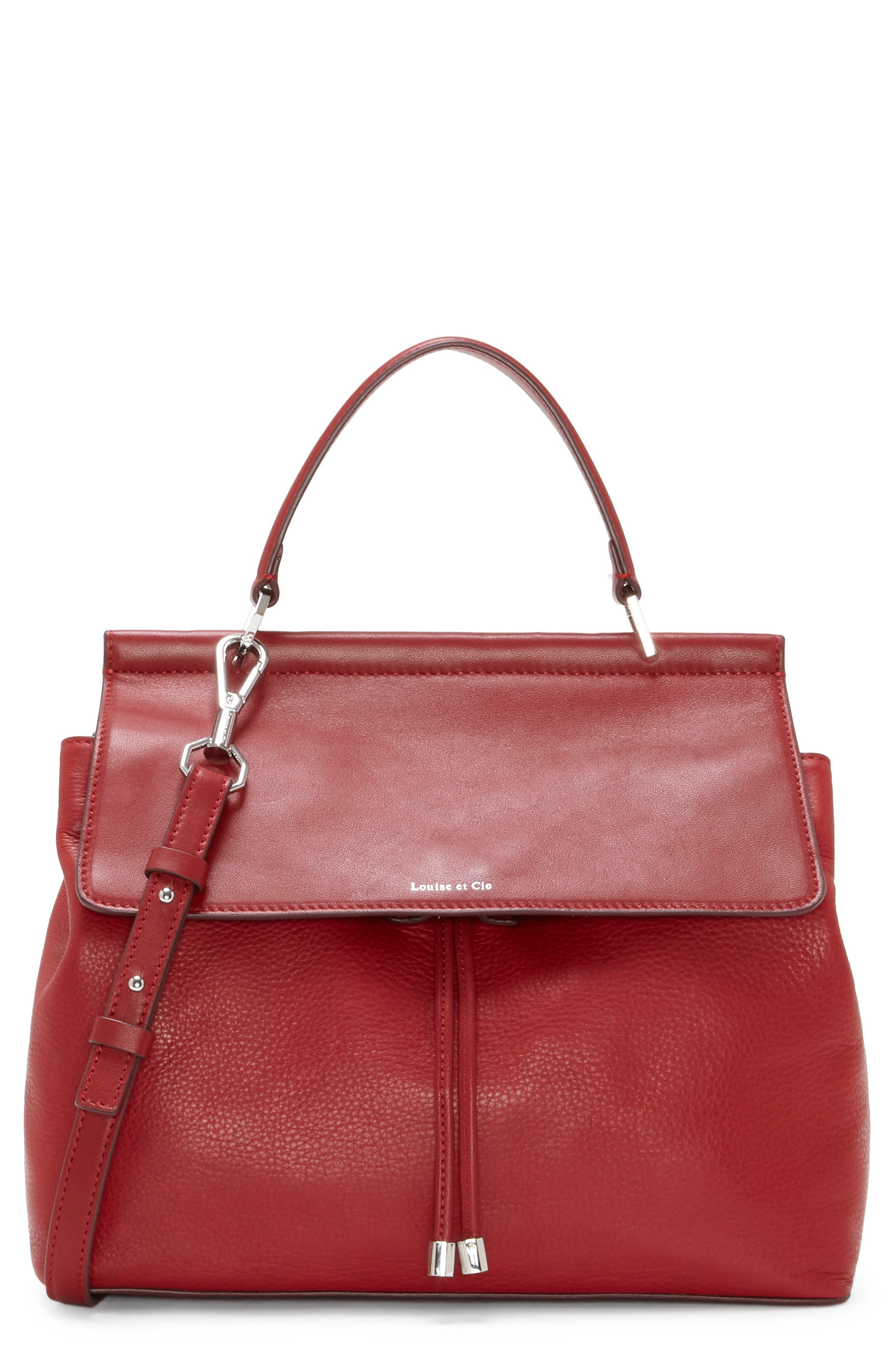 Alternate Image 1 Selected - Louise et Cie 'Towa' Leather Top Handle Satchel