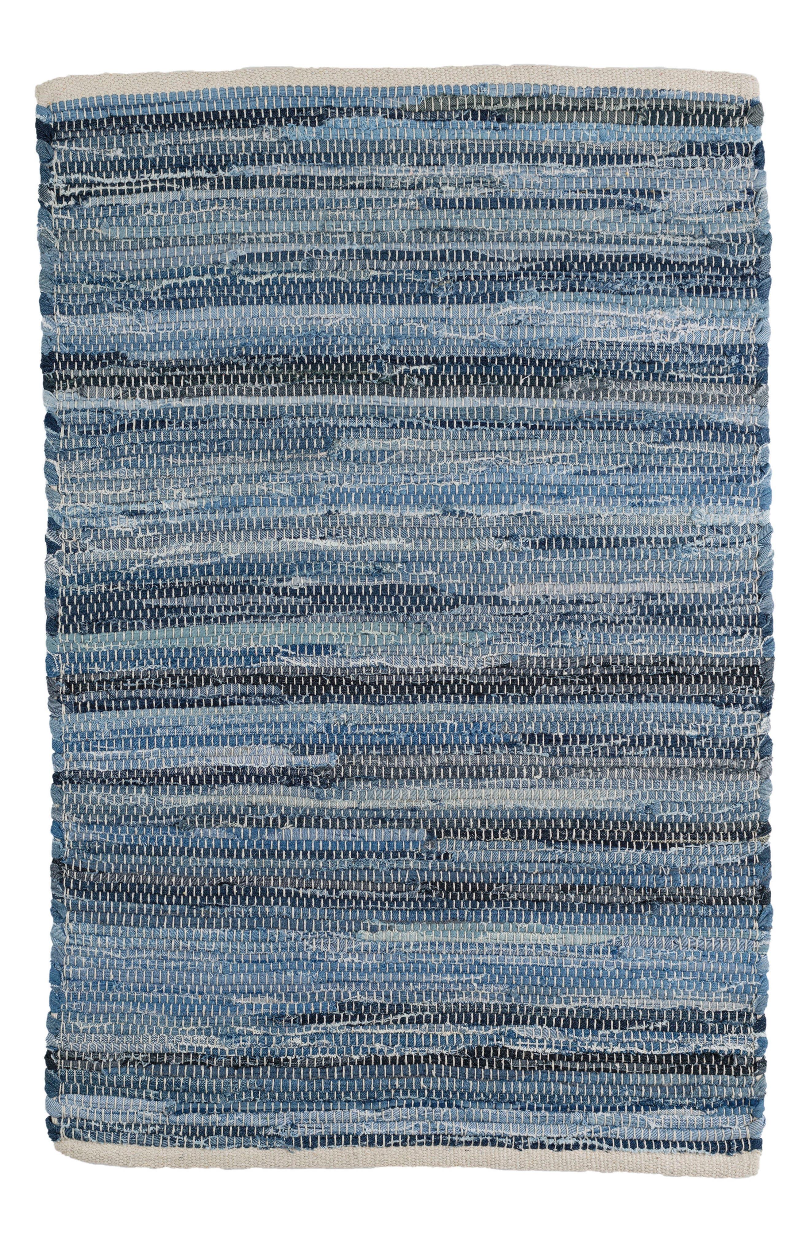 Main Image - Dash & Albert Fine Denim Woven Cotton Rug