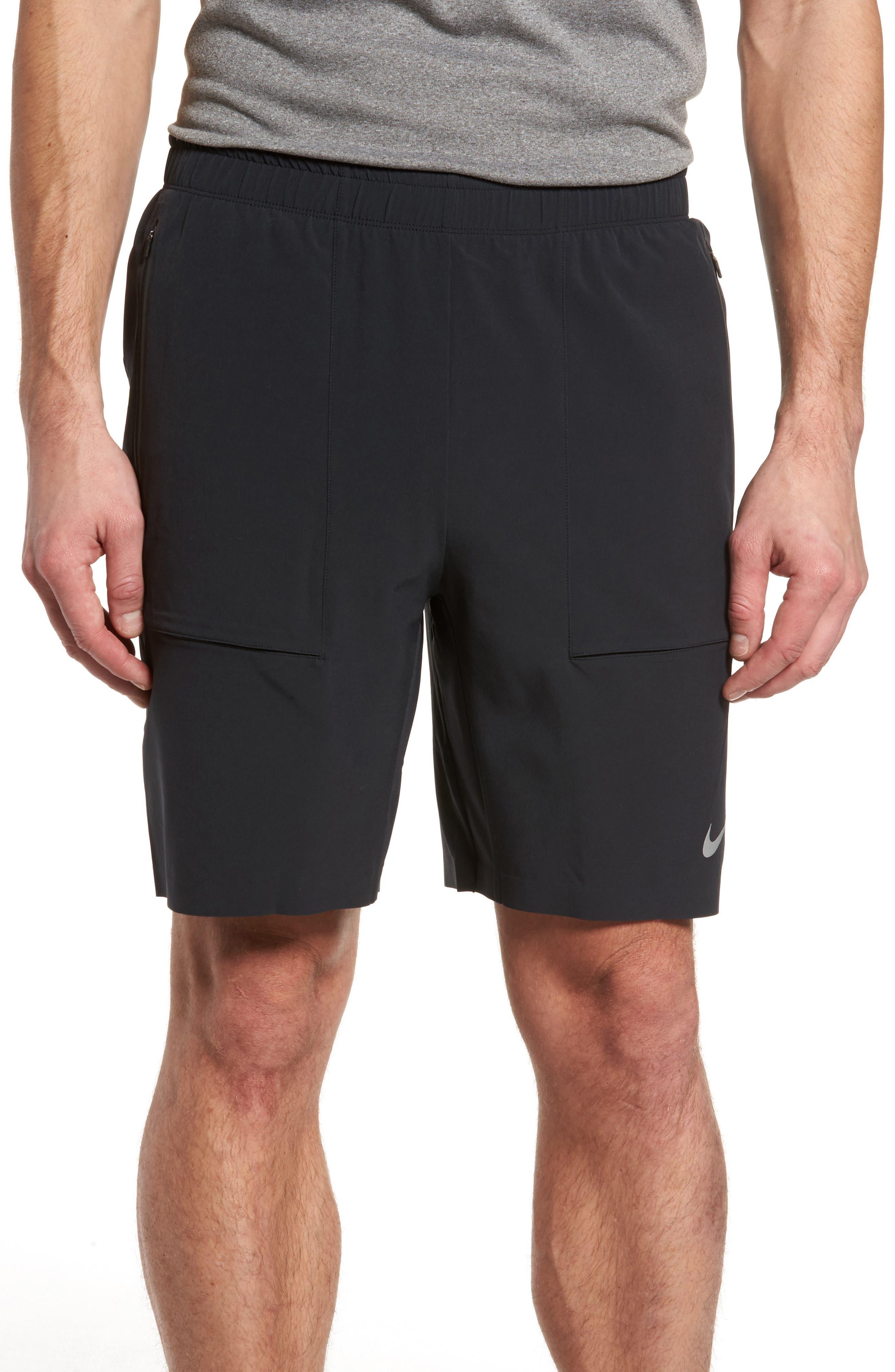 Running Shield Shorts,                             Main thumbnail 1, color,                             Black