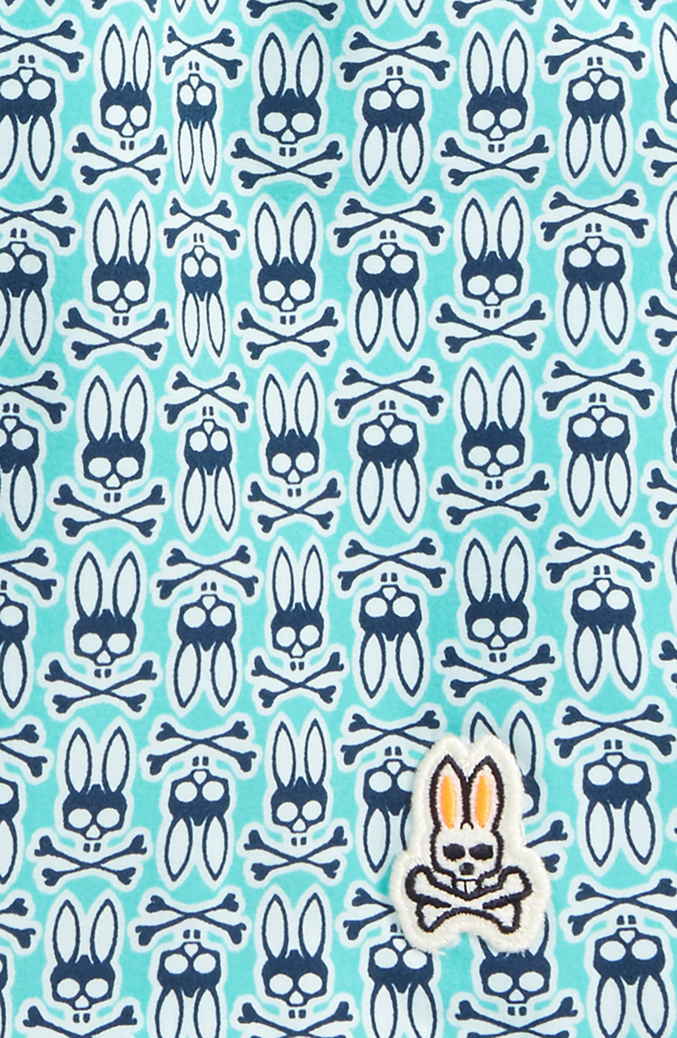 Alternate Image 2  - Psycho Bunny Print Swim Trunks (Little Boys & Big Boys)
