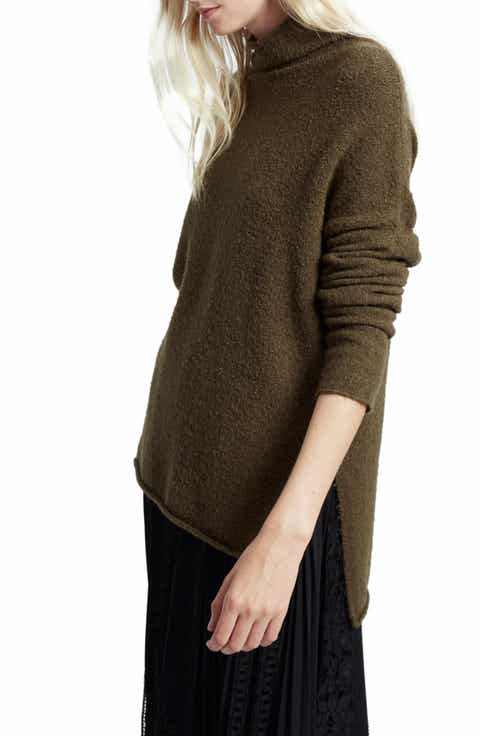 French Connection Aya Flossy Mock Neck Sweater